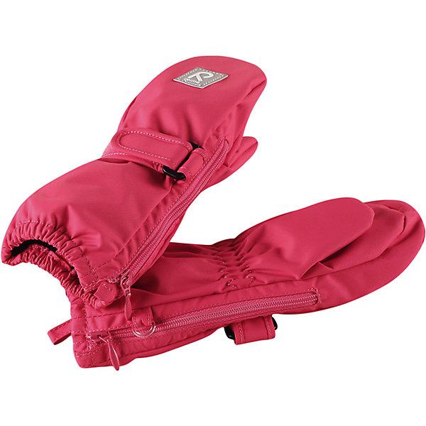 Варежки Poimii для девочки ReimaПерчатки и варежки<br>Характеристики товара:<br><br>• цвет: розовый<br>• состав: 100% полиэстер, полиуретановое покрытие<br>• температурный режим: от 0° до +10°С<br>• водонепроницаемость: 15000 мм<br>• воздухопроницаемость: 5000 мм<br>• износостойкость: 40000 циклов (тест Мартиндейла)<br>• без утеплителя<br>• водонепроницаемый материал без вставки - изделие не является водонепроницаемым<br>• износостойкий материал<br>• ветронепроницаемый, водо- и грязеотталкивающий материал<br>• трикотажная подкладка из полиэстера с начесом<br>• примечание: из-за наличия молнии изделие не является водонепроницаемым<br>• застёжка-липучка спереди, регулирует объем<br>• можно сушить в сушильном шкафу<br>• молния облегчает надевание<br>• эмблема Reima спереди<br>• светоотражающая эмблема спереди<br>• страна производства: Китай<br>• страна бренда: Финляндия<br>• коллекция: весна-лето 2017<br><br>Reima представляет новые варежки для детей. Они помогут обеспечить ребенку комфорт и дополнить наряд. Варежки отлично смотрятся с различной одеждой. Изделия удобно сидят и модно выглядят, в их основе - водо- и ветронепроницаемый грязеотталкивающий материал. Просты в уходе, долго служат. Стильный дизайн разрабатывался специально для детей.<br><br>Одежда и обувь от финского бренда Reima пользуется популярностью во многих странах. Эти изделия стильные, качественные и удобные. Для производства продукции используются только безопасные, проверенные материалы и фурнитура. Порадуйте ребенка модными и красивыми вещами от Reima! <br><br>Варежки для мальчика от финского бренда Reima (Рейма) можно купить в нашем интернет-магазине.<br><br>Ширина мм: 162<br>Глубина мм: 171<br>Высота мм: 55<br>Вес г: 119<br>Цвет: розовый<br>Возраст от месяцев: 0<br>Возраст до месяцев: 12<br>Пол: Женский<br>Возраст: Детский<br>Размер: 0,2,1<br>SKU: 5271152
