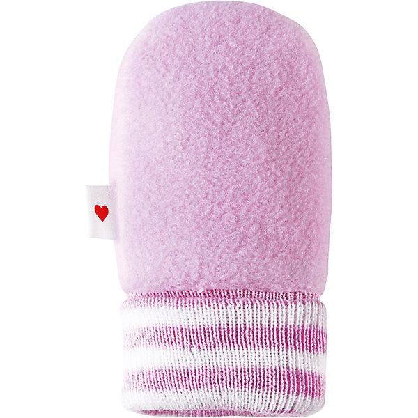 Варежки Mielle для девочки ReimaПинетки и царапки<br>Характеристики товара:<br><br>• цвет: розовый<br>• материал: поларфлис<br>• состав: верх - 100% полиэстер<br>• теплый, легкий и быстросохнущий полярный флис<br>• эластичный хлопковый трикотаж<br>• основной материал сертифицирован Oeko-Tex, класс 1, одежда для малышей<br>• сплошная подкладка из хлопкового трикотажа<br>• декоративный логотип сбоку<br>• без утеплителя<br>• страна производства: Китай<br>• страна бренда: Финляндия<br>• коллекция: весна-лето 2017<br><br>Reima представляет симпатичные варежки для малышей. Они помогут обеспечить ребенку комфорт и удобство. Варежки отлично смотрятся с различной одеждой. Изделия удобно сидят и модно выглядят, в их основе мягкий и теплый материал. Стильный дизайн разрабатывался специально для детей.<br><br>Одежда и обувь от финского бренда Reima пользуется популярностью во многих странах. Эти изделия стильные, качественные и удобные. Для производства продукции используются только безопасные, проверенные материалы и фурнитура. Порадуйте ребенка модными и красивыми вещами от Reima! <br><br>Варежки для мальчика от финского бренда Reima (Рейма) можно купить в нашем интернет-магазине.<br>Ширина мм: 162; Глубина мм: 171; Высота мм: 55; Вес г: 119; Цвет: розовый; Возраст от месяцев: 6; Возраст до месяцев: 18; Пол: Женский; Возраст: Детский; Размер: 1,0; SKU: 5271184;