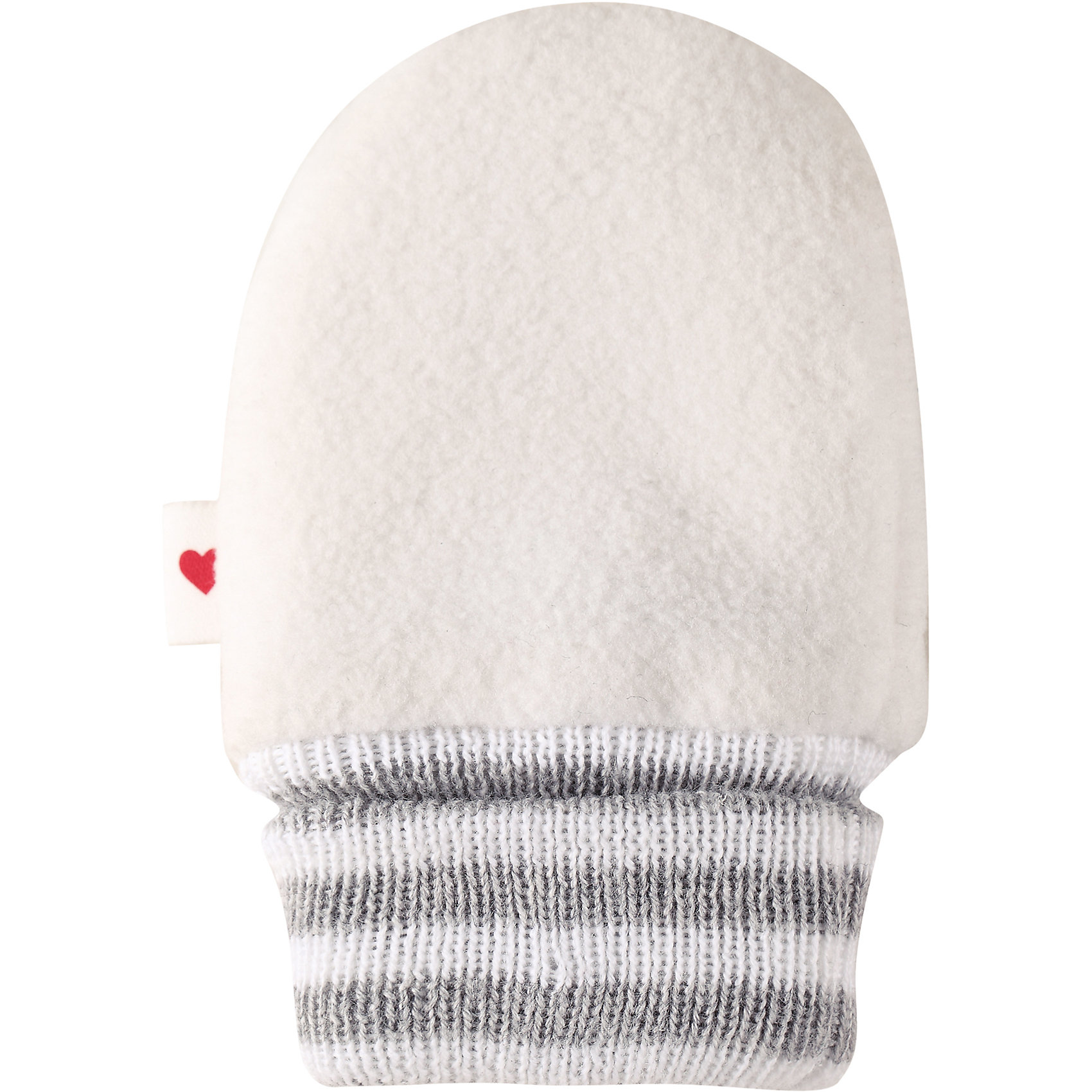 Варежки Mielle ReimaПерчатки и варежки<br>Характеристики товара:<br><br>• цвет: белый<br>• материал: поларфлис<br>• состав: верх - 100% полиэстер<br>• теплый, легкий и быстросохнущий полярный флис<br>• эластичный хлопковый трикотаж<br>• основной материал сертифицирован Oeko-Tex, класс 1, одежда для малышей<br>• сплошная подкладка из хлопкового трикотажа<br>• декоративный логотип сбоку<br>• без утеплителя<br>• страна производства: Китай<br>• страна бренда: Финляндия<br>• коллекция: весна-лето 2017<br><br>Reima представляет симпатичные варежки для малышей. Они помогут обеспечить ребенку комфорт и удобство. Варежки отлично смотрятся с различной одеждой. Изделия удобно сидят и модно выглядят, в их основе мягкий и теплый материал. Стильный дизайн разрабатывался специально для детей.<br><br>Одежда и обувь от финского бренда Reima пользуется популярностью во многих странах. Эти изделия стильные, качественные и удобные. Для производства продукции используются только безопасные, проверенные материалы и фурнитура. Порадуйте ребенка модными и красивыми вещами от Reima! <br><br>Варежки для мальчика от финского бренда Reima (Рейма) можно купить в нашем интернет-магазине.<br><br>Ширина мм: 162<br>Глубина мм: 171<br>Высота мм: 55<br>Вес г: 119<br>Цвет: белый<br>Возраст от месяцев: 6<br>Возраст до месяцев: 18<br>Пол: Унисекс<br>Возраст: Детский<br>Размер: 1,0<br>SKU: 5271187