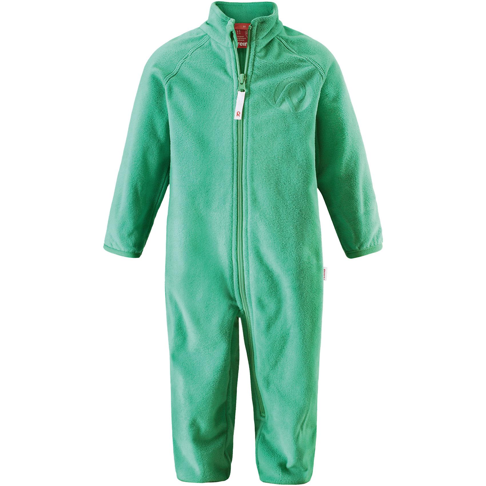 Комбинезон Kiesu ReimaФлис и термобелье<br>Характеристики товара:<br><br>• цвет: зеленый<br>• состав: 100% полиэстер, флис<br>• тёплый, лёгкий и быстросохнущий полярный флис<br>• пристёгивается к верхней одежде Reima с помощью системы кнопок Play Layers<br>• эластичные манжеты на рукавах и брючинах<br>• молния во всю длину со вставкой для защиты подбородка<br>• с отделкой горячим тиснением<br>• комфортная посадка<br>• страна производства: Китай<br>• страна бренда: Финляндия<br>• коллекция: весна-лето 2017<br><br>Одежда для детей может быть теплой и комфортной одновременно! Удобный комбинезон поможет обеспечить ребенку комфорт и тепло. Изделие сшито из флиса - мягкого и теплого материала, приятного на ощупь. Модель стильно смотрится, отлично сочетается с различным низом. Симпатичный дизайн разрабатывался специально для детей.<br><br>Одежда и обувь от финского бренда Reima пользуется популярностью во многих странах. Эти изделия стильные, качественные и удобные. Для производства продукции используются только безопасные, проверенные материалы и фурнитура. Порадуйте ребенка модными и красивыми вещами от Reima! <br><br>Комбинезон от финского бренда Reima (Рейма) можно купить в нашем интернет-магазине.<br><br>Ширина мм: 190<br>Глубина мм: 74<br>Высота мм: 229<br>Вес г: 236<br>Цвет: зеленый<br>Возраст от месяцев: 6<br>Возраст до месяцев: 9<br>Пол: Унисекс<br>Возраст: Детский<br>Размер: 74,98,68,80,86,92<br>SKU: 5271289