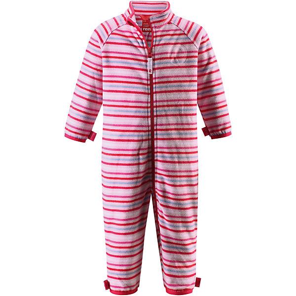 Комбинезон Kiesu для девочки ReimaФлис и термобелье<br>Характеристики товара:<br><br>• цвет: розовый<br>• состав: 100% полиэстер, флис<br>• тёплый, лёгкий и быстросохнущий полярный флис<br>• пристёгивается к верхней одежде Reima с помощью системы кнопок Play Layers<br>• эластичные манжеты на рукавах и брючинах<br>• молния во всю длину со вставкой для защиты подбородка<br>• с отделкой горячим тиснением<br>• комфортная посадка<br>• страна производства: Китай<br>• страна бренда: Финляндия<br>• коллекция: весна-лето 2017<br><br>Одежда для детей может быть теплой и комфортной одновременно! Удобный комбинезон поможет обеспечить ребенку комфорт и тепло. Изделие сшито из флиса - мягкого и теплого материала, приятного на ощупь. Модель стильно смотрится, отлично сочетается с различным низом. Симпатичный дизайн разрабатывался специально для детей.<br><br>Одежда и обувь от финского бренда Reima пользуется популярностью во многих странах. Эти изделия стильные, качественные и удобные. Для производства продукции используются только безопасные, проверенные материалы и фурнитура. Порадуйте ребенка модными и красивыми вещами от Reima! <br><br>Комбинезон от финского бренда Reima (Рейма) можно купить в нашем интернет-магазине.<br><br>Ширина мм: 190<br>Глубина мм: 74<br>Высота мм: 229<br>Вес г: 236<br>Цвет: розовый<br>Возраст от месяцев: 23<br>Возраст до месяцев: 29<br>Пол: Женский<br>Возраст: Детский<br>Размер: 92,68,80,98,86,74<br>SKU: 5271310