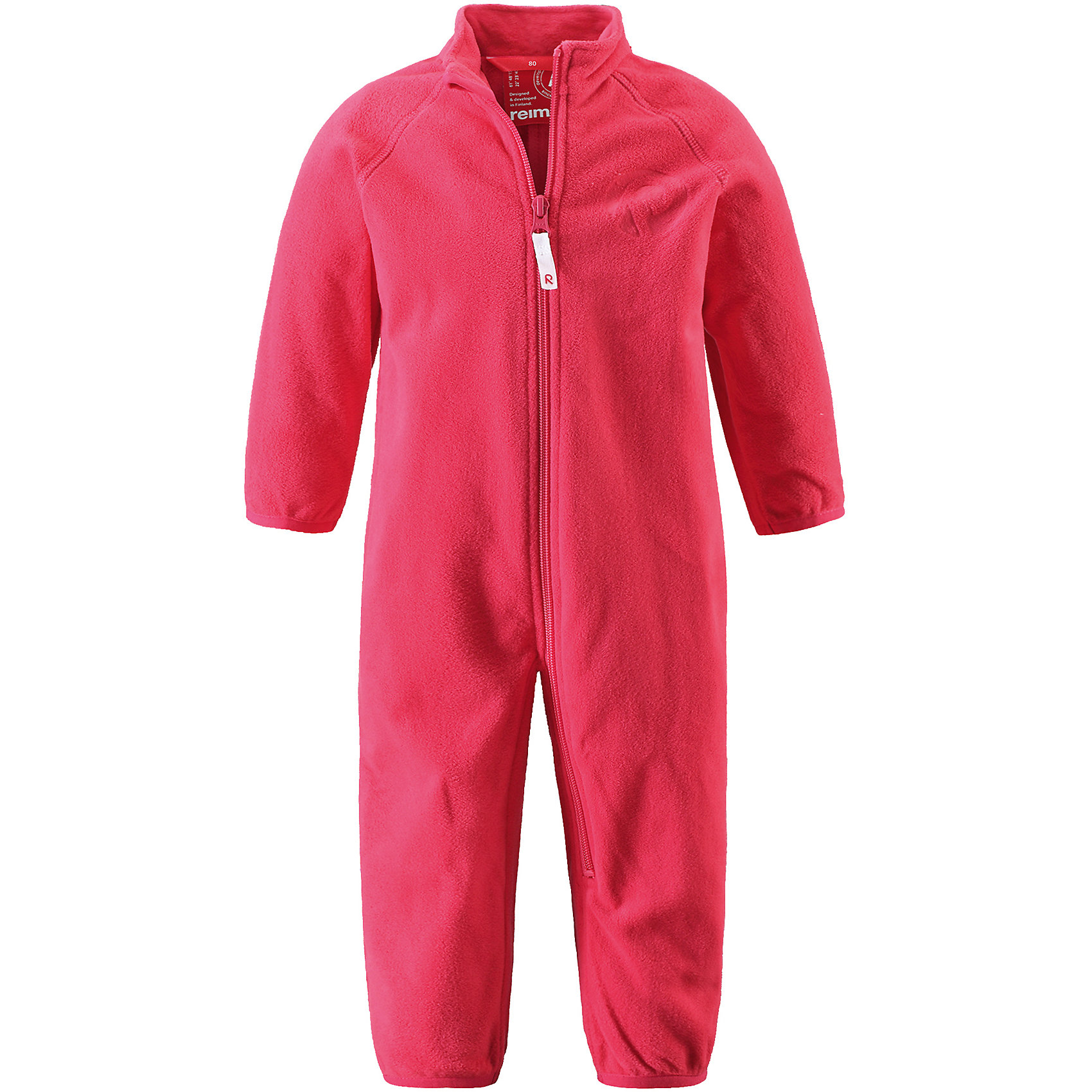 Комбинезон Kiesu для девочки ReimaФлис и термобелье<br>Характеристики товара:<br><br>• цвет: розовый<br>• состав: 100% полиэстер, флис<br>• тёплый, лёгкий и быстросохнущий полярный флис<br>• пристёгивается к верхней одежде Reima с помощью системы кнопок Play Layers<br>• эластичные манжеты на рукавах и брючинах<br>• молния во всю длину со вставкой для защиты подбородка<br>• с отделкой горячим тиснением<br>• комфортная посадка<br>• страна производства: Китай<br>• страна бренда: Финляндия<br>• коллекция: весна-лето 2017<br><br>Одежда для детей может быть теплой и комфортной одновременно! Удобный комбинезон поможет обеспечить ребенку комфорт и тепло. Изделие сшито из флиса - мягкого и теплого материала, приятного на ощупь. Модель стильно смотрится, отлично сочетается с различным низом. Симпатичный дизайн разрабатывался специально для детей.<br><br>Одежда и обувь от финского бренда Reima пользуется популярностью во многих странах. Эти изделия стильные, качественные и удобные. Для производства продукции используются только безопасные, проверенные материалы и фурнитура. Порадуйте ребенка модными и красивыми вещами от Reima! <br><br>Комбинезон от финского бренда Reima (Рейма) можно купить в нашем интернет-магазине.<br><br>Ширина мм: 190<br>Глубина мм: 74<br>Высота мм: 229<br>Вес г: 236<br>Цвет: розовый<br>Возраст от месяцев: 24<br>Возраст до месяцев: 36<br>Пол: Женский<br>Возраст: Детский<br>Размер: 98,68,74,80,86,92<br>SKU: 5271317