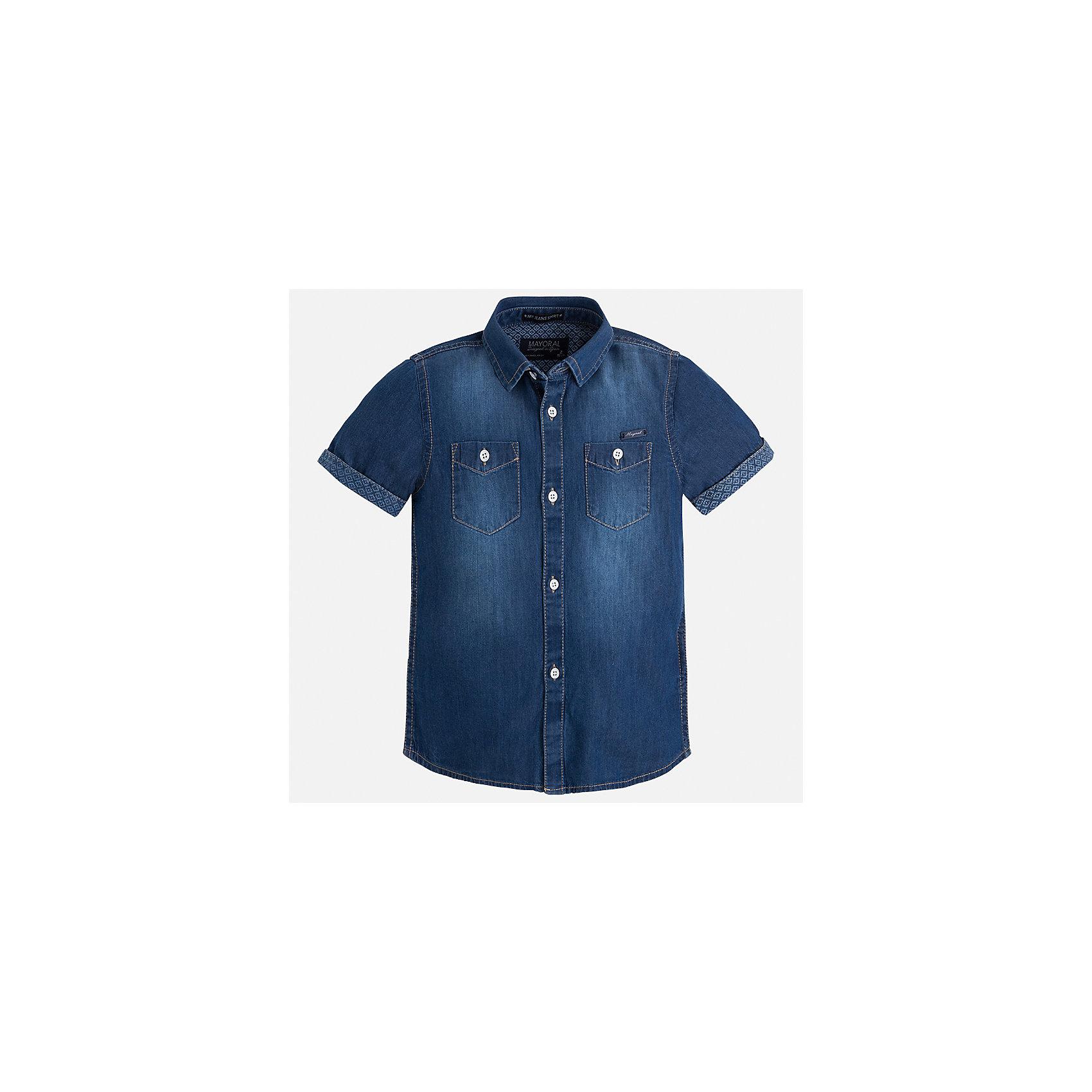 Рубашка джинсовая для мальчика Mayoral