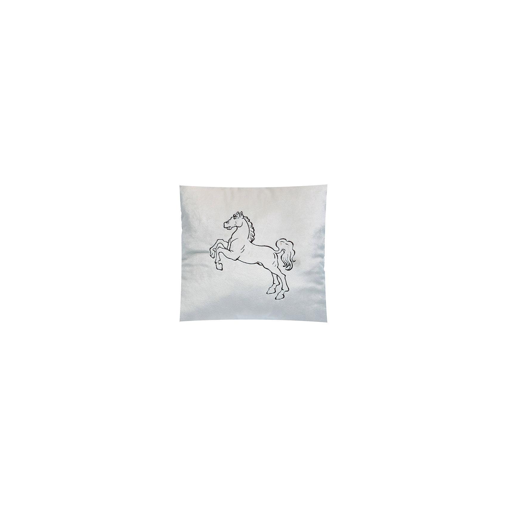 Декоративная подушка Лошадь арт. 1845, Small Toys, молочный