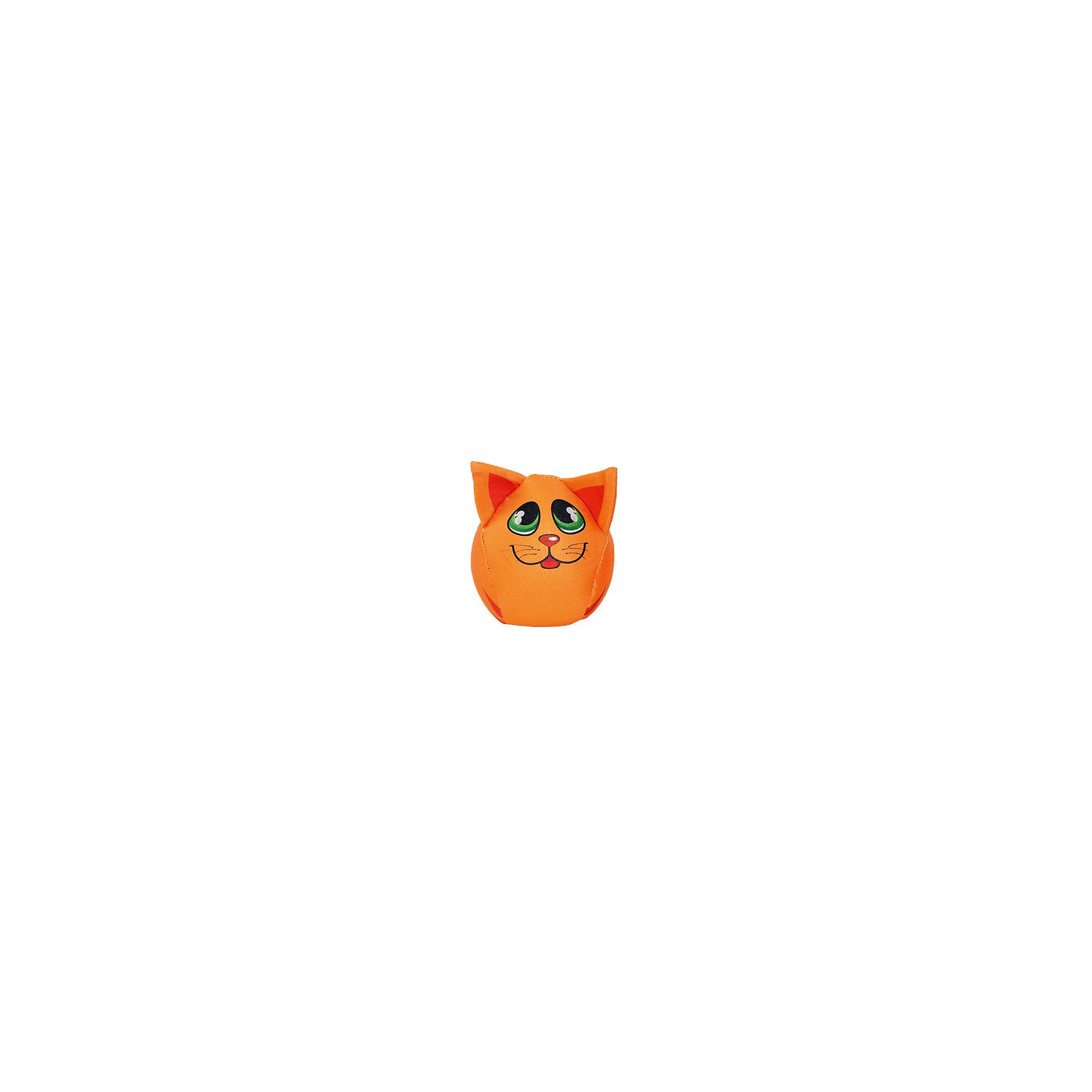 Котик-шарик 8*8*8, арт. 2612-1, Small Toys, оранжевыйХарактеристики товара:<br><br>• цвет: оранжевый<br>• материал: текстиль, наполнитель<br>• размер: 8х8х8 см<br>• в виде котика<br>• возраст: от трех лет<br>• страна бренда: Российская Федерация<br>• страна производства: Российская Федерация<br><br>Красивая и качественная игрушка может отличным подарком ребенку, тем более, если она сделана в виде симпатичного котика! Она яркая, поэтому привлечет внимание малыша. Игрушка сделана из приятного на ощупь материала и наполнителя.<br>Такое изделие сможет помочь развивать моторику, воображение, мышление малыша и отвлекать ребенка при необходимости. Игрушка выполнена в приятной расцветке. Швы хорошо проработаны. Она небольшая, поэтому её удобно брать с собой. Изделие произведено из сертифицированных материалов, безопасных для детей.<br><br>Подушку антистресс арт. 2601/15 от бренда Small Toys можно купить в нашем интернет-магазине.<br><br>Ширина мм: 80<br>Глубина мм: 80<br>Высота мм: 80<br>Вес г: 15<br>Возраст от месяцев: 36<br>Возраст до месяцев: 72<br>Пол: Женский<br>Возраст: Детский<br>SKU: 5272904
