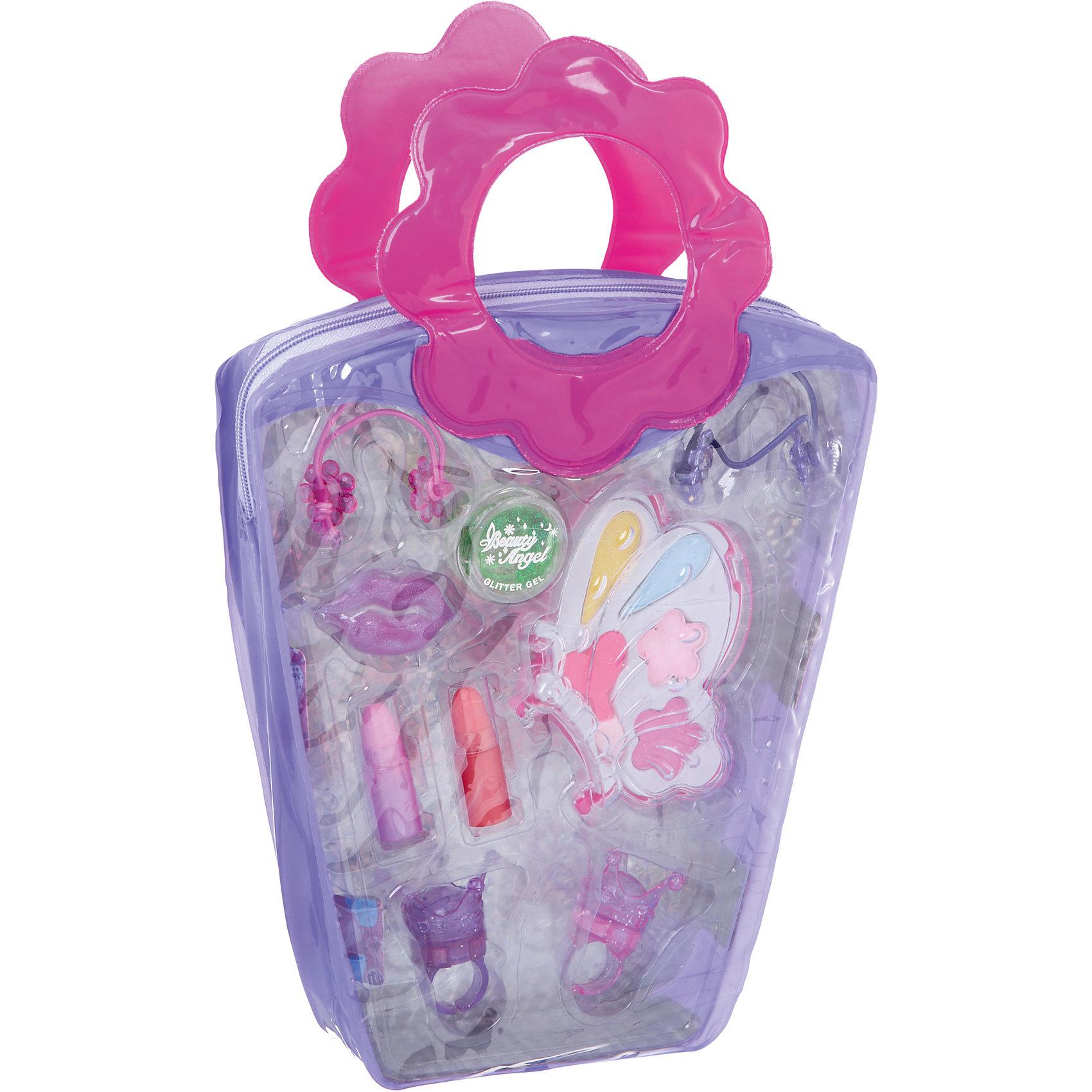 Детская декоративная косметика Сумочка-косметичка Eva Moda (тени для век)Косметика, грим и парфюмерия<br>Характеристики товара:<br><br>• материал: косметические ингредиенты, текстиль, пластик<br>• размер упаковки: 19x28х4 см<br>• упаковка: сумочка<br>• комплектация: 4 оттенка теней для век, аппликатор, 2 помады, 2 колечка с блесками для губ, 3 блеска для губ, 2 резинки для волос, гель-блеск<br>• декоративная косметика<br>• возраст: от пяти лет<br>• страна бренда: Бельгия<br>• страна производства: Китай<br><br>Научить девочку пользоватться косметикой и весело провести время поможет этот комплект! Набор состоит из блеска для губ, помады, аппликаторов и т.д., с их помощью можно сделать различные варианты макияжа. <br>Косметика качественно выполнена, сделана из безопасного для детей сырья. Подобное занятие помогает привить детям вкус, лучше развить мелкую моторику, память, внимание, аккуратность и мышление. Детям полезно такое занятие - они развивают свои способности и начинают верить в свои силы! Отличный подарок для ребенка.<br><br>Детскую декоративную косметику Сумочка-косметичка Eva Moda (тени для век) Bondibon можно купить в нашем интернет-магазине.<br><br>Ширина мм: 190<br>Глубина мм: 40<br>Высота мм: 285<br>Вес г: 153<br>Возраст от месяцев: 60<br>Возраст до месяцев: 192<br>Пол: Женский<br>Возраст: Детский<br>SKU: 5273313