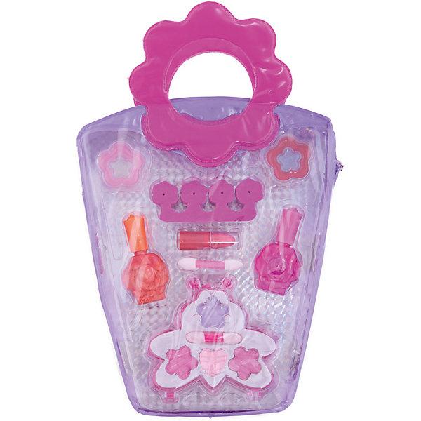 Детская декоративная косметика Сумочка-косметичка Eva Moda (тени для век)Наборы детской косметики<br>Характеристики товара:<br><br>• материал: косметические ингредиенты, текстиль, пластик<br>• размер упаковки: 19x28х4 см<br>• упаковка: сумочка<br>• комплектация: тени для век (4 оттенка) с 2 аппликаторами, помада, 2 лака для ногтей, блеск для губ (4 оттенка), разделитель для пальцев<br>• декоративная косметика<br>• возраст: от пяти лет<br>• страна бренда: Бельгия<br>• страна производства: Китай<br><br>Научить девочку пользоватться косметикой и весело провести время поможет этот комплект! Набор состоит из блеска для губ, помады, аппликаторов и т.д., с их помощью можно сделать различные варианты макияжа. <br>Косметика качественно выполнена, сделана из безопасного для детей сырья. Подобное занятие помогает привить детям вкус, лучше развить мелкую моторику, память, внимание, аккуратность и мышление. Детям полезно такое занятие - они развивают свои способности и начинают верить в свои силы! Отличный подарок для ребенка.<br><br>Детскую декоративную косметику Сумочка-косметичка Eva Moda (тени для век) Bondibon можно купить в нашем интернет-магазине.<br>Ширина мм: 190; Глубина мм: 40; Высота мм: 285; Вес г: 148; Возраст от месяцев: 60; Возраст до месяцев: 192; Пол: Женский; Возраст: Детский; SKU: 5273314;
