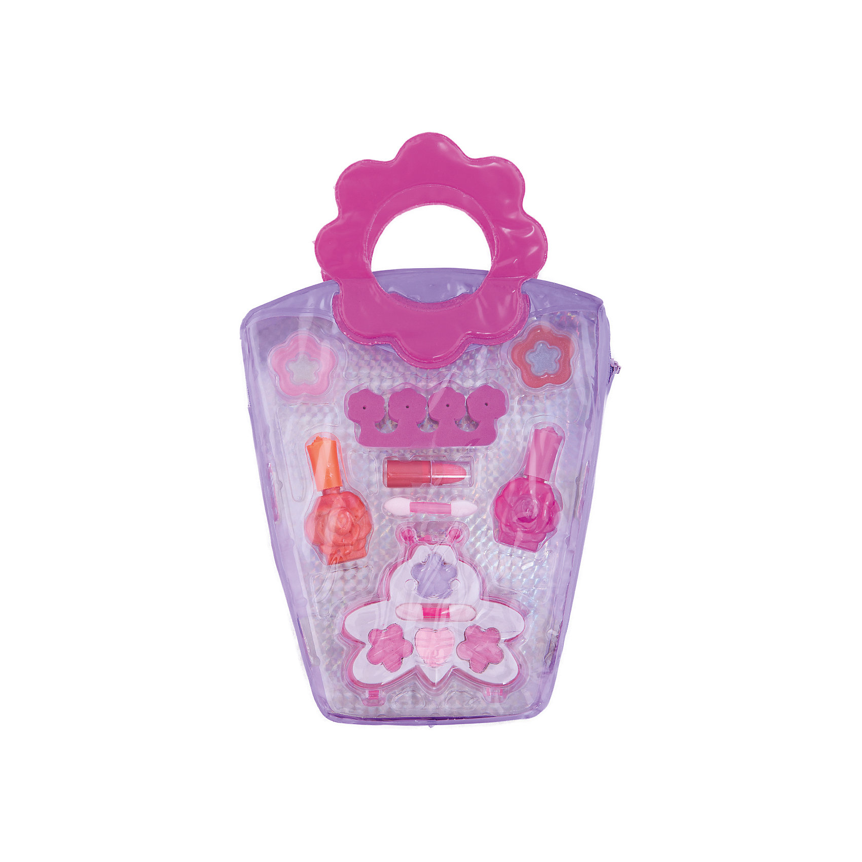 Детская декоративная косметика Сумочка-косметичка Eva Moda (тени для век)Косметика, грим и парфюмерия<br>Характеристики товара:<br><br>• материал: косметические ингредиенты, текстиль, пластик<br>• размер упаковки: 19x28х4 см<br>• упаковка: сумочка<br>• комплектация: тени для век (4 оттенка) с 2 аппликаторами, помада, 2 лака для ногтей, блеск для губ (4 оттенка), разделитель для пальцев<br>• декоративная косметика<br>• возраст: от пяти лет<br>• страна бренда: Бельгия<br>• страна производства: Китай<br><br>Научить девочку пользоватться косметикой и весело провести время поможет этот комплект! Набор состоит из блеска для губ, помады, аппликаторов и т.д., с их помощью можно сделать различные варианты макияжа. <br>Косметика качественно выполнена, сделана из безопасного для детей сырья. Подобное занятие помогает привить детям вкус, лучше развить мелкую моторику, память, внимание, аккуратность и мышление. Детям полезно такое занятие - они развивают свои способности и начинают верить в свои силы! Отличный подарок для ребенка.<br><br>Детскую декоративную косметику Сумочка-косметичка Eva Moda (тени для век) Bondibon можно купить в нашем интернет-магазине.<br><br>Ширина мм: 190<br>Глубина мм: 40<br>Высота мм: 285<br>Вес г: 148<br>Возраст от месяцев: 60<br>Возраст до месяцев: 192<br>Пол: Женский<br>Возраст: Детский<br>SKU: 5273314