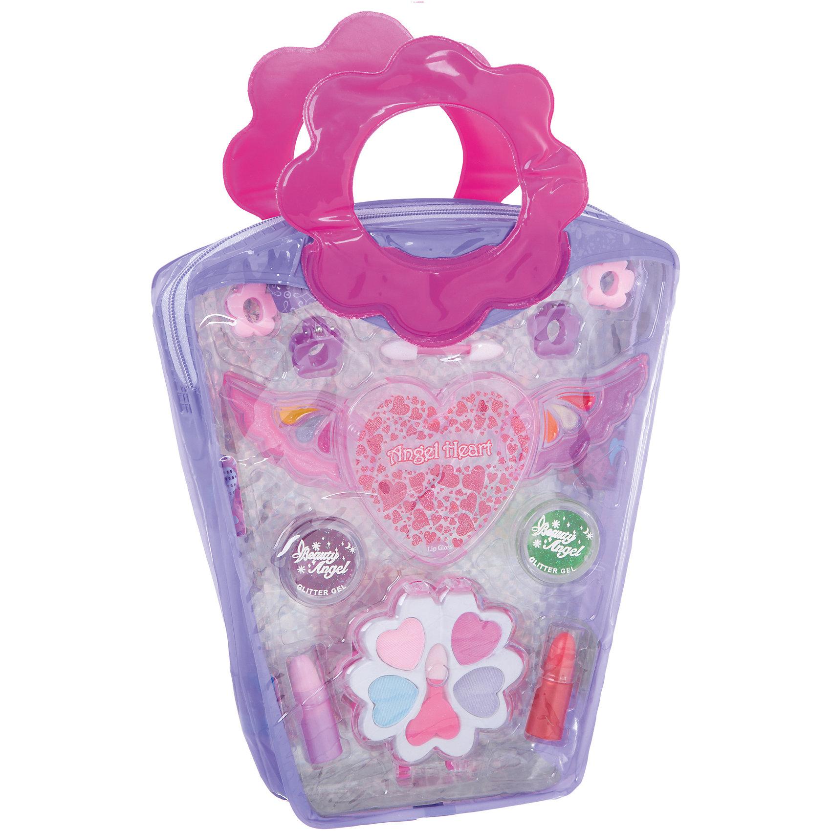 Детская декоративная косметика Тени для век Eva ModaКосметика, грим и парфюмерия<br>Характеристики товара:<br><br>• материал: косметические ингредиенты, пластик<br>• размер упаковки: 19x28х4 см<br>• упаковка: сумочка<br>• комплектация: 4 оттенка теней для век, 2 аппликатора, 2 помады, 8 блесков для губ, 2 геля-блеска, 4 заколки<br>• декоративная косметика<br>• возраст: от пяти лет<br>• страна бренда: Бельгия<br>• страна производства: Китай<br><br>Научить девочку пользоватться косметикой и весело провести время поможет этот комплект! Набор состоит из теней для век, помады, аппликаторов и т.д., с их помощью можно сделать различные варианты макияжа. <br>Косметика качественно выполнена, сделана из безопасного для детей сырья. Подобное занятие помогает привить детям вкус, лучше развить мелкую моторику, память, внимание, аккуратность и мышление. Детям полезно такое занятие - они развивают свои способности и начинают верить в свои силы! Отличный подарок для ребенка.<br><br>Детскую декоративную косметику Тени для век Eva Moda Bondibon можно купить в нашем интернет-магазине.<br><br>Ширина мм: 190<br>Глубина мм: 40<br>Высота мм: 285<br>Вес г: 140<br>Возраст от месяцев: 60<br>Возраст до месяцев: 192<br>Пол: Женский<br>Возраст: Детский<br>SKU: 5273316