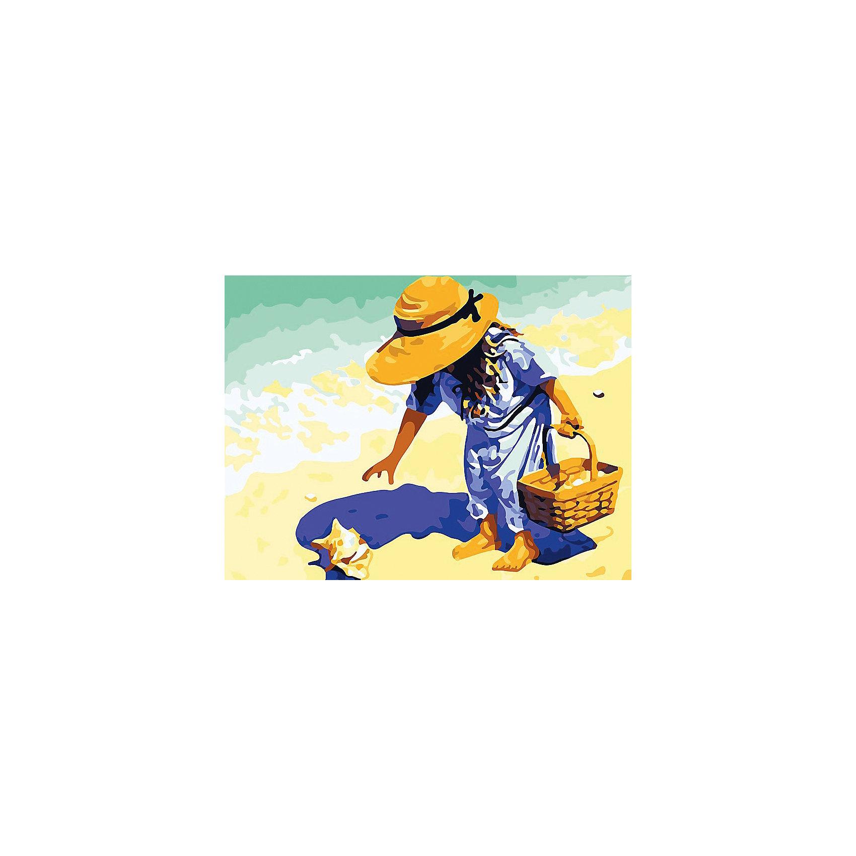 Живопись на холсте Морские находки 30*40 смХарактеристики товара:<br><br>• комплектация: холст, карта рисунка, краски, кисти, инструкция, крепление для картины<br>• размер упаковки: 41х31х3 см<br>• размер холста: 40х30 см<br>• не требует специальных навыков<br>• страна бренда: Российская Федерация<br>• страна производства: Китай<br><br>Набор для раскрашивания по номерам - это отличный подарок для ребенка или взрослого! В комплекте есть всё необходимое для самостоятельного создания шедевра: холст, краски, кисти и инструкция. Акриловые краски не нужно смешивать - каждый номер баночки соответствует номеру нужного оттенка на холсте. Нарисовать картину сможет даже человек, никогда раньше не рисовавший! Готовое полотно и может стать украшением интерьера или подарком для близких.<br>Комплектующие набора качественно выполнены, сделаны из безопасных для детей материалов. Рисование помогает детям лучше развить мелкую моторику, память, внимание, аккуратность и мышление. Такой набор - отличный подарок ребенку, но он сможет увлечь даже взрослого!<br><br>Живопись на холсте Морские находки 30*40 см от бренда Белоснежка можно купить в нашем интернет-магазине.<br><br>Ширина мм: 410<br>Глубина мм: 310<br>Высота мм: 25<br>Вес г: 567<br>Возраст от месяцев: 72<br>Возраст до месяцев: 2147483647<br>Пол: Женский<br>Возраст: Детский<br>SKU: 5275910