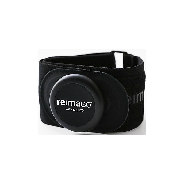 Комплект: сенсор активности ReimaGO и браслетОдежда<br>Характеристики товара:<br><br>• цвет: черный;<br>• материал: поликарбонат, АБС-сополимер;<br>• водонепроницаем, испытано на глубине 30 м;<br>• тип батареек: CR2025;<br>• наличие батареек: батарейки в комплекте;<br>• срок службы батарейки: приблизительно 6 месяцев после активации;<br>• общий вес: 9,4 грамма;<br>• диаметр: 36,5;<br>• толщина: 8 мм;<br>• диапазон передачи: 3 метра;<br>• частота передачи: 2,4 ГГц;<br>• для чистки датчика используйте влажную ткань;<br>• снимайте датчик с одежды перед стиркой;<br>• инструкция по замене батарее в комплекте;<br>• хранить в прохладном сухом месте;<br>• регулируемая длина браслета: диаметр 16-24 см;<br>• ширина браслета: 4 см;<br>• толщина браслета: 0,8 см;<br>• эластичный материал;<br>• мягкая застежка-липучка не царапает запястье ребенка;<br>• ламинированный разъем для подключения датчика;<br>• для браслета возможна машинная стирка;<br>• страна бренда: Финляндия;<br>• страна изготовитель: Финляндия.<br><br>ReimaGO® – новый веселый способ мотивировать детей больше двигаться и играть на свежем воздухе. Этот датчик движения на базе технологии Suunto Movesense® измеряет уровень физической активности ребенка в течение дня. Заработанные ребенком баллы записываются с помощью увлекательного приложения ReimaGO®, которое устанавливается на смартфон или планшет. <br><br>Приложение удобно в использовании для всей семьи. В родительской версии приложения за активность детям можно выдавать разные награды. Баллы активности ребенка преобразовываются в энергию для виртуального персонажа, и в своем игровом приложении дети могут путешествовать в новые миры и собирать награды. Датчик работает с помощью приложения ReimaGO®, установленного на iPhone или iPad, через подключение по Bluetooth® Smart.<br><br>Браслет ReimaGO® — это удобный наручный браслет для ношения сенсора в любом месте и в любое время. Браслет отлично подходит для ношения сенсора во время любой активности. С этим стильным брас