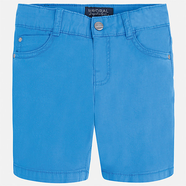 Бриджи для мальчика MayoralШорты, бриджи, капри<br>Характеристики товара:<br><br>• цвет: голубой<br>• состав: 98% хлопок, 2% эластан<br>• застежка: пуговица<br>• шлевки<br>• карманы<br>• пояс с регулировкой объема<br>• классический силуэт<br>• страна бренда: Испания<br><br>Модные бриджи для мальчика смогут стать базовой вещью в гардеробе ребенка. Они отлично сочетаются с майками, футболками, рубашками и т.д. Универсальный крой и цвет позволяет подобрать к вещи верх разных расцветок. Практичное и стильное изделие! В составе материала - натуральный хлопок, гипоаллергенный, приятный на ощупь, дышащий.<br><br>Одежда, обувь и аксессуары от испанского бренда Mayoral полюбились детям и взрослым по всему миру. Модели этой марки - стильные и удобные. Для их производства используются только безопасные, качественные материалы и фурнитура. Порадуйте ребенка модными и красивыми вещами от Mayoral! <br><br>Бриджи для мальчика от испанского бренда Mayoral (Майорал) можно купить в нашем интернет-магазине.<br><br>Ширина мм: 191<br>Глубина мм: 10<br>Высота мм: 175<br>Вес г: 273<br>Цвет: синий<br>Возраст от месяцев: 18<br>Возраст до месяцев: 24<br>Пол: Мужской<br>Возраст: Детский<br>Размер: 92,134,128,122,116,110,104,98<br>SKU: 5277855