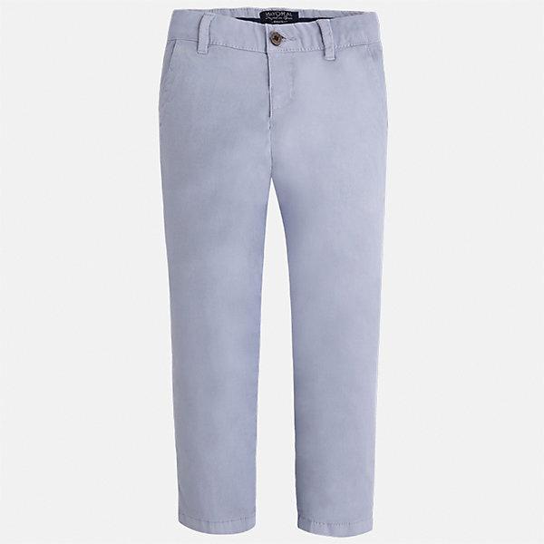 Брюки для мальчика MayoralБрюки<br>Характеристики товара:<br><br>• цвет: серый<br>• состав: 98% хлопок, 2% эластан<br>• застежка: кнопка<br>• шлевки<br>• карманы<br>• пояс с регулировкой размера<br>• классический силуэт<br>• страна бренда: Испания<br><br>Стильные и удобные брюки для мальчика смогут стать базовой вещью в гардеробе ребенка. Они отлично сочетаются с майками, футболками, рубашками и т.д. Практичное и стильное изделие! В составе материала - натуральный хлопок, гипоаллергенный, приятный на ощупь, дышащий.<br><br>Брюки для мальчика от испанского бренда Mayoral (Майорал) можно купить в нашем интернет-магазине.<br><br>Ширина мм: 215<br>Глубина мм: 88<br>Высота мм: 191<br>Вес г: 336<br>Цвет: серый<br>Возраст от месяцев: 18<br>Возраст до месяцев: 24<br>Пол: Мужской<br>Возраст: Детский<br>Размер: 92,122,134,128,116,110,104,98<br>SKU: 5278071