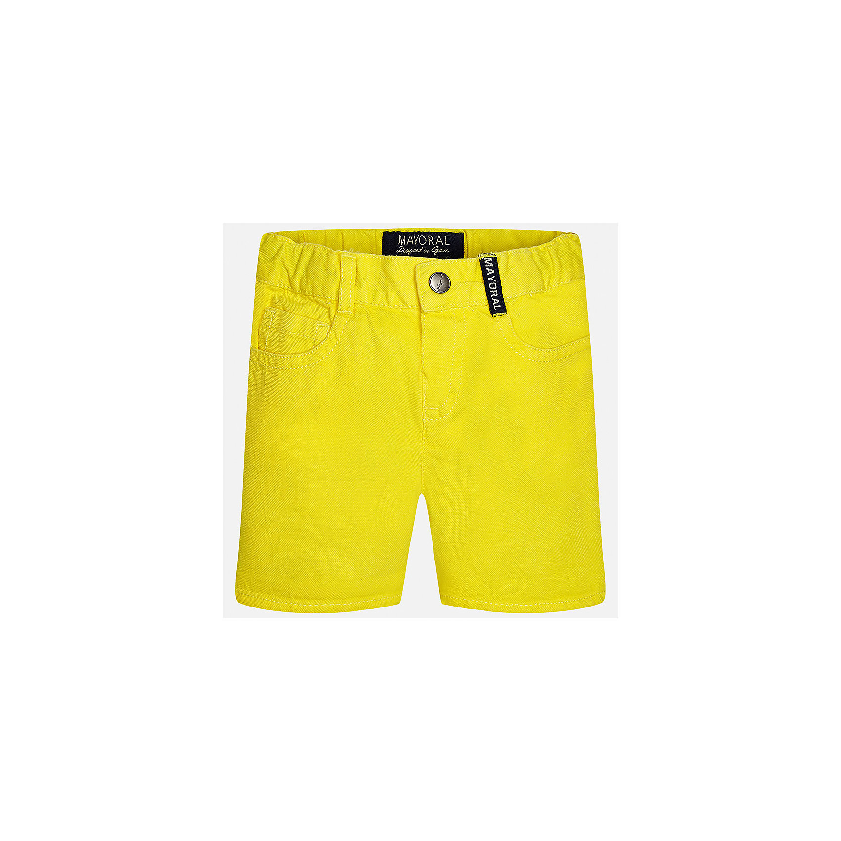 Бриджи для мальчика MayoralШорты и бриджи<br>Характеристики товара:<br><br>• цвет: жёлтый<br>• состав: 100% хлопок<br>• шлевки<br>• карманы<br>• пояс с регулировкой объема<br>• нашивка с логотипом<br>• страна бренда: Испания<br><br>Модные бриджи для мальчика смогут стать базовой вещью в гардеробе ребенка. Они отлично сочетаются с майками, футболками, рубашками и т.д. Универсальный крой и цвет позволяет подобрать к вещи верх разных расцветок. Практичное и стильное изделие! В составе материала - только натуральный хлопок, гипоаллергенный, приятный на ощупь, дышащий.<br><br>Одежда, обувь и аксессуары от испанского бренда Mayoral полюбились детям и взрослым по всему миру. Модели этой марки - стильные и удобные. Для их производства используются только безопасные, качественные материалы и фурнитура. Порадуйте ребенка модными и красивыми вещами от Mayoral! <br><br>Бриджи для мальчика от испанского бренда Mayoral (Майорал) можно купить в нашем интернет-магазине.<br><br>Ширина мм: 191<br>Глубина мм: 10<br>Высота мм: 175<br>Вес г: 273<br>Цвет: желтый<br>Возраст от месяцев: 18<br>Возраст до месяцев: 24<br>Пол: Мужской<br>Возраст: Детский<br>Размер: 92,74,80,86<br>SKU: 5279490