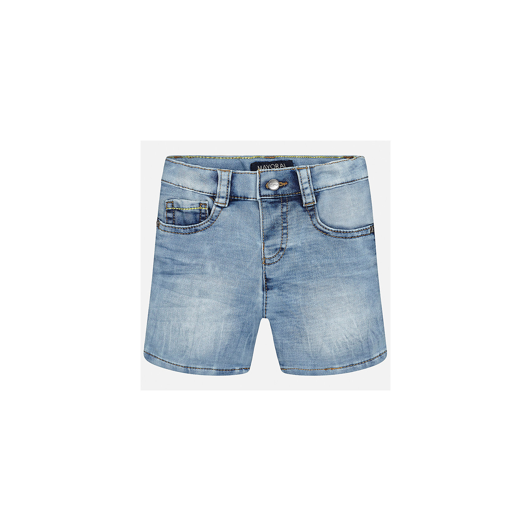 Бриджи джинсовые для мальчика MayoralШорты и бриджи<br>Характеристики товара:<br><br>• цвет: голубой<br>• состав: 52% хлопок, 47% полиэстер, 1% эластан<br>• шлевки<br>• карманы<br>• пояс с регулировкой объема<br>• эффект потертости<br>• страна бренда: Испания<br><br>Модные бриджи для мальчика смогут стать базовой вещью в гардеробе ребенка. Они отлично сочетаются с майками, футболками, рубашками и т.д. Универсальный крой и цвет позволяет подобрать к вещи верх разных расцветок. Практичное и стильное изделие! В составе материала - натуральный хлопок, гипоаллергенный, приятный на ощупь, дышащий.<br><br>Одежда, обувь и аксессуары от испанского бренда Mayoral полюбились детям и взрослым по всему миру. Модели этой марки - стильные и удобные. Для их производства используются только безопасные, качественные материалы и фурнитура. Порадуйте ребенка модными и красивыми вещами от Mayoral! <br><br>Бриджи для мальчика от испанского бренда Mayoral (Майорал) можно купить в нашем интернет-магазине.<br><br>Ширина мм: 191<br>Глубина мм: 10<br>Высота мм: 175<br>Вес г: 273<br>Цвет: синий<br>Возраст от месяцев: 12<br>Возраст до месяцев: 15<br>Пол: Мужской<br>Возраст: Детский<br>Размер: 80,92,86<br>SKU: 5279499