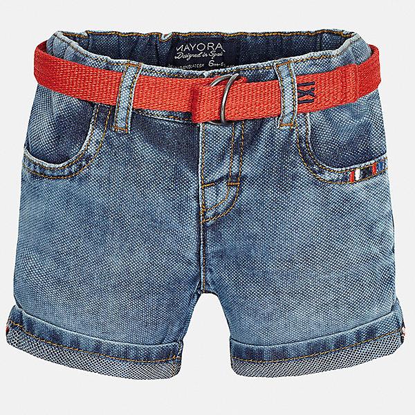 Бриджи джинсовые для мальчика MayoralШорты и бриджи<br>Характеристики товара:<br><br>• цвет: синий<br>• состав: 100% хлопок<br>• шлевки<br>• карманы<br>• пояс с регулировкой объема<br>• имитация потертостей<br>• страна бренда: Испания<br><br>Модные бриджи для мальчика смогут стать базовой вещью в гардеробе ребенка. Они отлично сочетаются с майками, футболками, рубашками и т.д. Универсальный крой и цвет позволяет подобрать к вещи верх разных расцветок. Практичное и стильное изделие! В составе материала - только натуральный хлопок, гипоаллергенный, приятный на ощупь, дышащий.<br><br>Одежда, обувь и аксессуары от испанского бренда Mayoral полюбились детям и взрослым по всему миру. Модели этой марки - стильные и удобные. Для их производства используются только безопасные, качественные материалы и фурнитура. Порадуйте ребенка модными и красивыми вещами от Mayoral! <br><br>Бриджи для мальчика от испанского бренда Mayoral (Майорал) можно купить в нашем интернет-магазине.<br><br>Ширина мм: 191<br>Глубина мм: 10<br>Высота мм: 175<br>Вес г: 273<br>Цвет: голубой<br>Возраст от месяцев: 18<br>Возраст до месяцев: 24<br>Пол: Мужской<br>Возраст: Детский<br>Размер: 92,86,80<br>SKU: 5279503