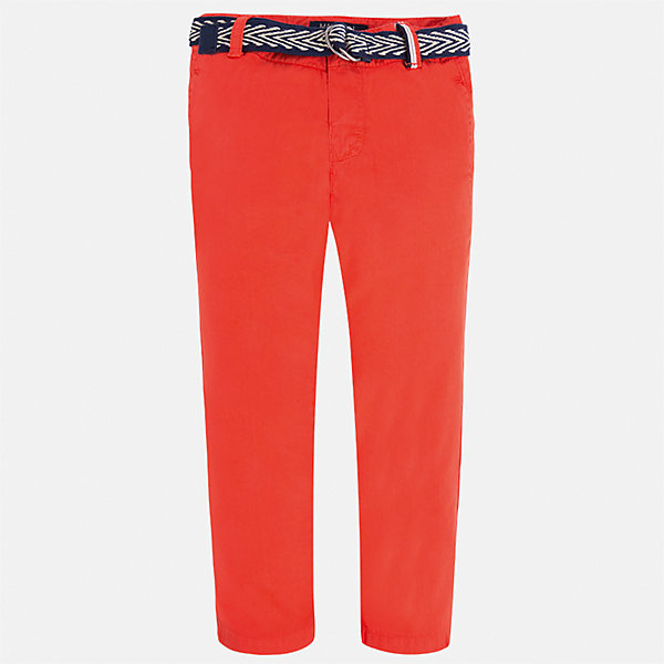 Брюки для мальчика MayoralБрюки<br>Характеристики товара:<br><br>• цвет: красный<br>• состав: 100% хлопок<br>• пуговицы на карманах <br>• шлевки<br>• карманы<br>• пояс с регулировкой объема<br>• классический силуэт<br>• страна бренда: Испания<br><br>Модные брюки для мальчика смогут стать базовой вещью в гардеробе ребенка. Они отлично сочетаются с майками, футболками, рубашками и т.д. Универсальный крой и цвет позволяет подобрать к вещи верх разных расцветок. Практичное и стильное изделие! В составе материала - только натуральный хлопок, гипоаллергенный, приятный на ощупь, дышащий.<br><br>Одежда, обувь и аксессуары от испанского бренда Mayoral полюбились детям и взрослым по всему миру. Модели этой марки - стильные и удобные. Для их производства используются только безопасные, качественные материалы и фурнитура. Порадуйте ребенка модными и красивыми вещами от Mayoral! <br><br>Брюки для мальчика от испанского бренда Mayoral (Майорал) можно купить в нашем интернет-магазине.<br>Ширина мм: 215; Глубина мм: 88; Высота мм: 191; Вес г: 336; Цвет: красный; Возраст от месяцев: 24; Возраст до месяцев: 36; Пол: Мужской; Возраст: Детский; Размер: 92,98,104,110,134,116,122,128; SKU: 5280837;
