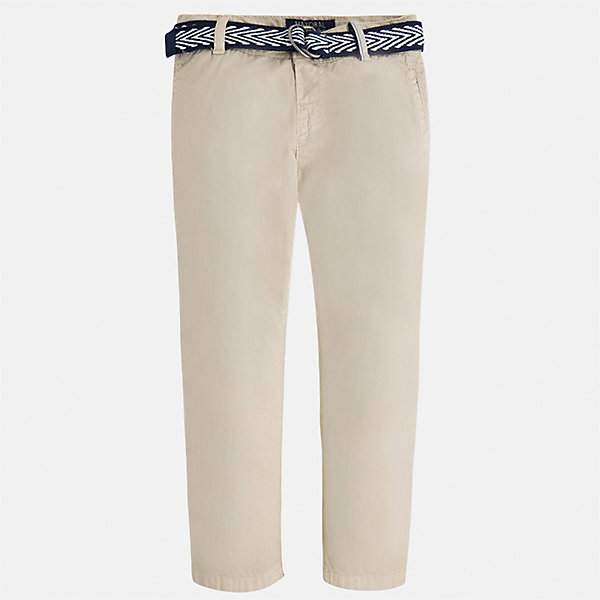 Брюки для мальчика MayoralБрюки<br>Характеристики товара:<br><br>• цвет: бежевый<br>• состав: 100% хлопок<br>• пуговицы на карманах <br>• шлевки<br>• карманы<br>• пояс с регулировкой объема<br>• классический силуэт<br>• страна бренда: Испания<br><br>Модные брюки для мальчика смогут стать базовой вещью в гардеробе ребенка. Они отлично сочетаются с майками, футболками, рубашками и т.д. Универсальный крой и цвет позволяет подобрать к вещи верх разных расцветок. Практичное и стильное изделие! В составе материала - только натуральный хлопок, гипоаллергенный, приятный на ощупь, дышащий.<br><br>Одежда, обувь и аксессуары от испанского бренда Mayoral полюбились детям и взрослым по всему миру. Модели этой марки - стильные и удобные. Для их производства используются только безопасные, качественные материалы и фурнитура. Порадуйте ребенка модными и красивыми вещами от Mayoral! <br><br>Брюки для мальчика от испанского бренда Mayoral (Майорал) можно купить в нашем интернет-магазине.<br>Ширина мм: 215; Глубина мм: 88; Высота мм: 191; Вес г: 336; Цвет: бежевый; Возраст от месяцев: 18; Возраст до месяцев: 24; Пол: Мужской; Возраст: Детский; Размер: 92,116,98,104,122,128,134,110; SKU: 5280855;