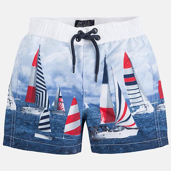 Плавки-шорты для мальчика MayoralКупальники и плавки<br>Характеристики товара:<br><br>• цвет: голубой принт<br>• состав: 100% полиэстер, подкладка - 100% полиэстер<br>• принт на ткани<br>• пояс со шнурком<br>• с подкладкой<br>• быстросохнущий материал<br>• страна бренда: Испания<br><br>Одежда для купания должна быть удобной! Эти плавательные шорты для мальчика не только хорошо сидят на ребенке, не стесняя движения и не натирая, они отлично смотрятся! Сшиты они из плотной ткани, но она очень быстро высыхает. Интересная расцветка модели делает её нарядной и оригинальной. <br><br>Одежда, обувь и аксессуары от испанского бренда Mayoral полюбились детям и взрослым по всему миру. Модели этой марки - стильные и удобные. Для их производства используются только безопасные, качественные материалы и фурнитура. Порадуйте ребенка модными и красивыми вещами от Mayoral! <br><br>Плавки для мальчика от испанского бренда Mayoral (Майорал) можно купить в нашем интернет-магазине.<br><br>Ширина мм: 183<br>Глубина мм: 60<br>Высота мм: 135<br>Вес г: 119<br>Цвет: розовый<br>Возраст от месяцев: 48<br>Возраст до месяцев: 60<br>Пол: Мужской<br>Возраст: Детский<br>Размер: 110,128,122,104,134,98,116,92<br>SKU: 5281153