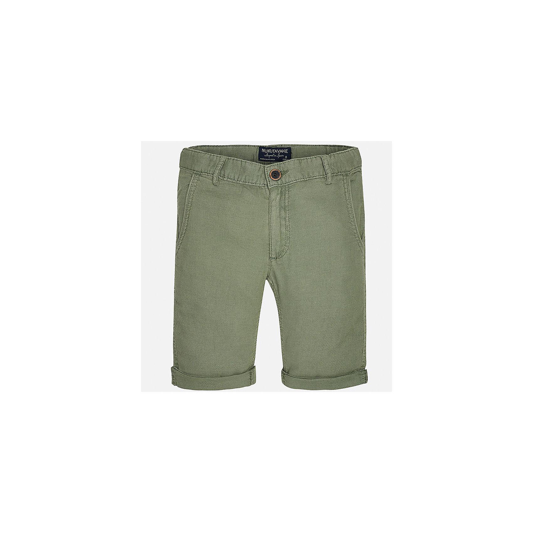 Бриджи для мальчика MayoralШорты, бриджи, капри<br>Характеристики товара:<br><br>• цвет: зеленый<br>• состав: 100% хлопок<br>• шлевки<br>• карманы<br>• пояс с регулировкой объема<br>• средняя длина<br>• страна бренда: Испания<br><br>Стильные шорты для мальчика смогут стать базовой вещью в гардеробе ребенка. Они отлично сочетаются с майками, футболками, рубашками и т.д. Универсальный крой и цвет позволяет подобрать к вещи верх разных расцветок. Практичное и стильное изделие! В составе материала - натуральный хлопок, гипоаллергенный, приятный на ощупь, дышащий.<br><br>Одежда, обувь и аксессуары от испанского бренда Mayoral полюбились детям и взрослым по всему миру. Модели этой марки - стильные и удобные. Для их производства используются только безопасные, качественные материалы и фурнитура. Порадуйте ребенка модными и красивыми вещами от Mayoral! <br><br>Шорты для мальчика от испанского бренда Mayoral (Майорал) можно купить в нашем интернет-магазине.<br><br>Ширина мм: 191<br>Глубина мм: 10<br>Высота мм: 175<br>Вес г: 273<br>Цвет: зеленый<br>Возраст от месяцев: 132<br>Возраст до месяцев: 144<br>Пол: Мужской<br>Возраст: Детский<br>Размер: 158,152,140,128/134,170,164<br>SKU: 5281769