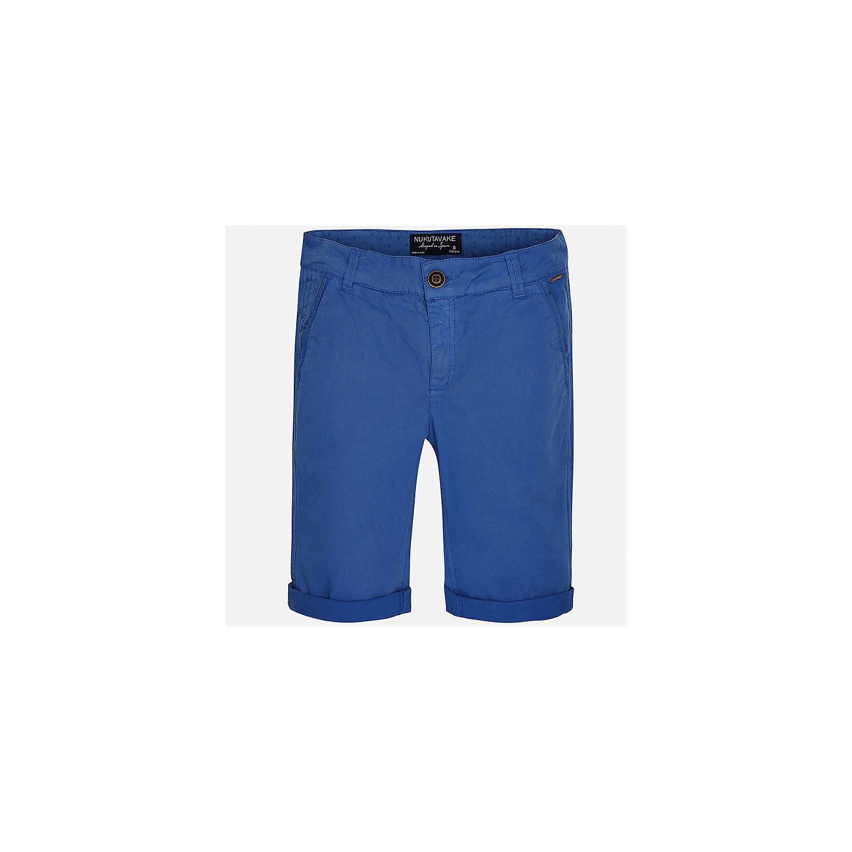 Бриджи для мальчика MayoralХарактеристики товара:<br><br>• цвет: синий<br>• состав: 98% хлопок, 2% эластан<br>• шлевки<br>• карманы<br>• пояс с регулировкой объема<br>• средняя длина<br>• страна бренда: Испания<br><br>Стильные шорты для мальчика смогут стать базовой вещью в гардеробе ребенка. Они отлично сочетаются с майками, футболками, рубашками и т.д. Универсальный крой и цвет позволяет подобрать к вещи верх разных расцветок. Практичное и стильное изделие! В составе материала - натуральный хлопок, гипоаллергенный, приятный на ощупь, дышащий.<br><br>Одежда, обувь и аксессуары от испанского бренда Mayoral полюбились детям и взрослым по всему миру. Модели этой марки - стильные и удобные. Для их производства используются только безопасные, качественные материалы и фурнитура. Порадуйте ребенка модными и красивыми вещами от Mayoral! <br><br>Шорты для мальчика от испанского бренда Mayoral (Майорал) можно купить в нашем интернет-магазине.<br><br>Ширина мм: 191<br>Глубина мм: 10<br>Высота мм: 175<br>Вес г: 273<br>Цвет: синий<br>Возраст от месяцев: 84<br>Возраст до месяцев: 96<br>Пол: Мужской<br>Возраст: Детский<br>Размер: 128/134,158,170,164,152,140<br>SKU: 5281776