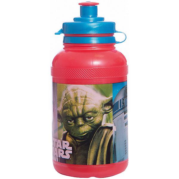 Бутылка пластиковая Звёздные войны 400 млЗвездные войны<br>Характеристики товара:<br><br>• материал: пластик<br>• украшена рисунком<br>• размер: 6,5х6,5х15 см<br>• вес: 40 г<br>• объем: 400 мл<br>• страна бренда: Испания<br>• страна производства: Китай<br><br>Такая бутылка станет отличным подарком для ребенка! Она отличается тем, что на предмете изображены персонажи из фильма Звёздные войны. Есть или пить из предметов с любимым героем многих современных детей - всегда приятнее. Бутылочка очень удобна, объем оптимален для детей, сюда как раз вместится необходимый для одной тренировки объем воды. Плюс - изделие дополнено специальной крышкой. Использовать его можно и в школе, и на улице!<br>Бутылка выпущена в удобном формате, размер - универсальный. Изделие производится из качественных и проверенных материалов, которые безопасны для детей.<br><br>Бутылку пластиковую Звёздные войны 400 мл можно купить в нашем интернет-магазине.<br>Ширина мм: 65; Глубина мм: 65; Высота мм: 150; Вес г: 40; Возраст от месяцев: 36; Возраст до месяцев: 168; Пол: Унисекс; Возраст: Детский; SKU: 5282069;