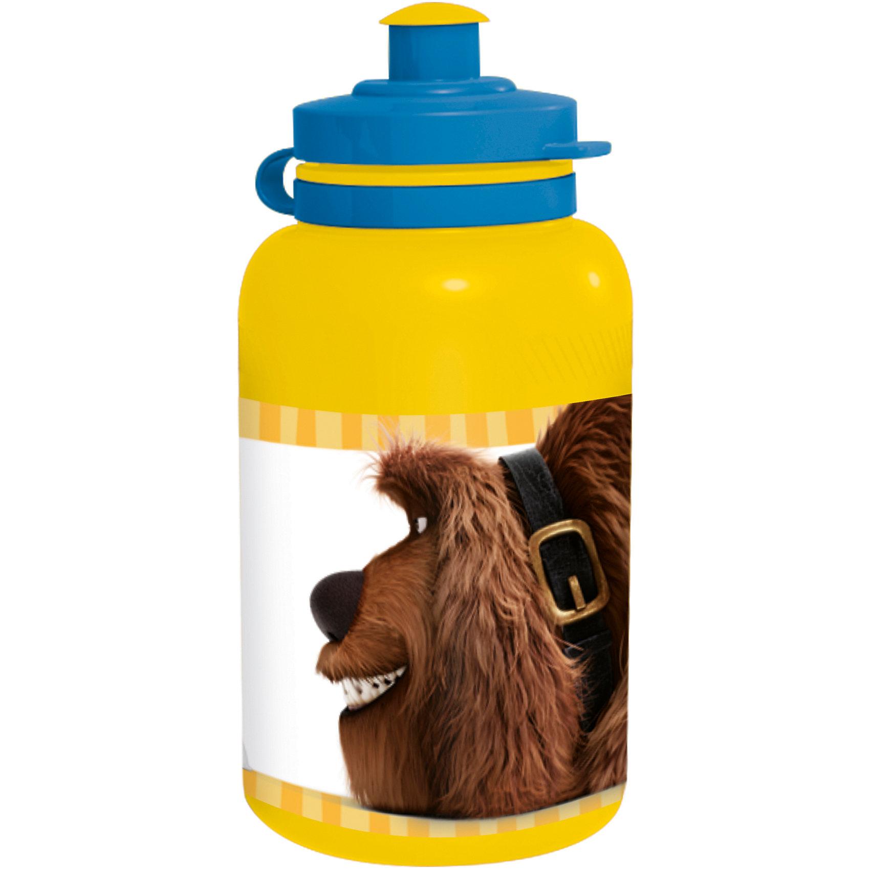 Бутылка пластиковая Тайная жизнь домашних животных 400 млХарактеристики товара:<br><br>• материал: пластик<br>• украшена рисунком<br>• размер: 6,5х6,5х15 см<br>• вес: 40 г<br>• объем: 400 мл<br>• страна бренда: Испания<br>• страна производства: Китай<br><br>Такая бутылка станет отличным подарком для ребенка! Она отличается тем, что на предмете изображены персонажи из мультфильма Тайная жизнь домашних животных. Есть или пить из предметов с любимым героем многих современных детей - всегда приятнее. Бутылочка очень удобна, объем оптимален для детей, сюда как раз вместится необходимый для одной тренировки объем воды. Плюс - изделие дополнено специальной крышкой. Использовать его можно и в школе, и на улице!<br>Бутылка выпущена в удобном формате, размер - универсальный. Изделие производится из качественных и проверенных материалов, которые безопасны для детей.<br><br>Бутылку пластиковую Тайная жизнь домашних животных 400 мл можно купить в нашем интернет-магазине.<br><br>Ширина мм: 65<br>Глубина мм: 65<br>Высота мм: 150<br>Вес г: 40<br>Возраст от месяцев: 36<br>Возраст до месяцев: 108<br>Пол: Унисекс<br>Возраст: Детский<br>SKU: 5282074
