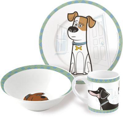 ND Play Набор керамической посуды Тайная жизнь домашних животных (3 предмета)