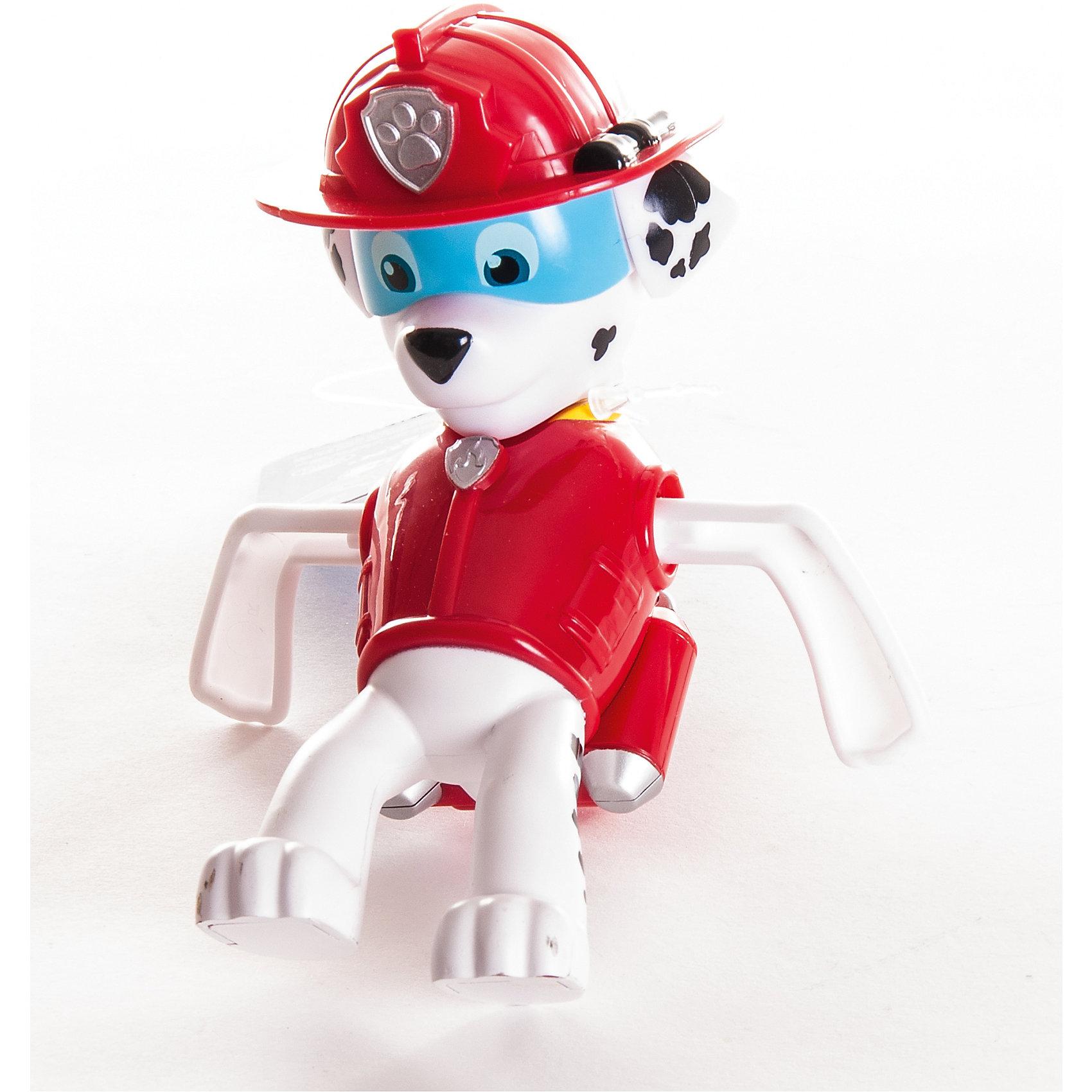 Игрушка для ванной заводная Маршал, Щенячий патруль, Spin MasterИгровые наборы<br>Характеристики:<br><br>• особенности игрушки: заводная;<br>• материал: пластик;<br>• размер фигурки: 13 см;<br>• размер упаковки: 13х6х8 см;<br>• вес: 190 г.<br><br>Заводная игрушка для купания – персонаж из мультсериала для детей Paw Patrol. Игрушка с моторчиком, весело плавает в ванной. Малыш наблюдает за щенком, старается ухватить его ручками. <br><br>Игрушку для ванной заводную Маршал, Щенячий патруль, Spin Master можно купить в нашем магазине.<br><br>Ширина мм: 130<br>Глубина мм: 60<br>Высота мм: 80<br>Вес г: 183<br>Возраст от месяцев: 36<br>Возраст до месяцев: 2147483647<br>Пол: Унисекс<br>Возраст: Детский<br>SKU: 5282098