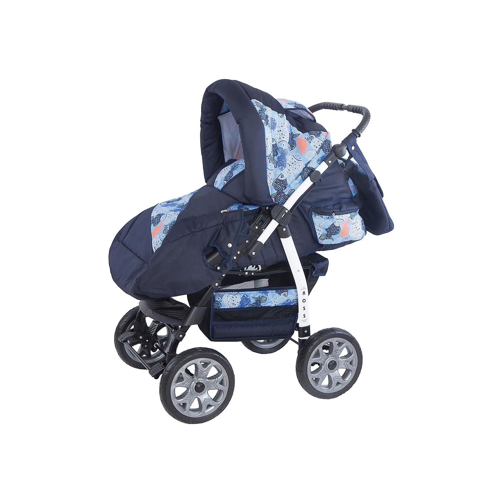 Коляска-трансформер Marimex Ross, синий/голубой с принтомКоляски-трансформеры<br>Характеристики товара:<br><br>• цвет: синий, голубой <br>• материал: металл, текстиль, пластик<br>• размер в разложенном виде: 110х60х119 см<br>• комплектация: люлька-переноска, накидка на ножки, сумка для мамы <br>• вес: 16 кг<br>• тип складывания: книжка <br>• колеса: 4 шт<br>• пятиточечные ремни безопасности<br>• солнцезащитный козырек<br>• четыре положения спинки<br>• возможность перекидывать ручку <br>• регулируемая подножка<br>• большая корзина для покупок<br>• система амортизации: пружины <br>• страна бренда: Польша<br>• страна производства: Польша<br><br>ВНИМАНИЕ!!! Вставки с рисунком на коляске могут отличаться от представленных на фото!<br><br>Качественная коляска обеспечит родителям и ребенку удобство при прогулках и перемещениях малыша. Эта модель от польского производителя Marimex оборудована всем необходимым для комфорта. Она легко трансформирвуется под различные ситуации, имеет специальную люльку-переноску для самых маленьких.<br>В основе коляски - прочный металлический корпус, материал имеет специальную пропитку, которая защищает про промокания, но при этом оставляет ткань дышащей. Очень стильная и удобная модель! Изделие качественно выполнено, сделано из безопасных для детей материалов. <br><br>Коляску-трансформер Ross от бренда Marimex можно купить в нашем интернет-магазине.<br><br>Ширина мм: 900<br>Глубина мм: 450<br>Высота мм: 380<br>Вес г: 16700<br>Возраст от месяцев: 0<br>Возраст до месяцев: 36<br>Пол: Мужской<br>Возраст: Детский<br>SKU: 5282607