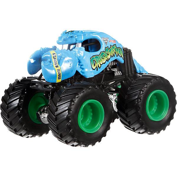 Машинка 1:64,  Monster Jam, Hot WheelsМашинки<br>Характеристики игрушечной машинки Hot Wheels:<br><br>• серия: Monster Jam;<br>• масштаб: 1:64;<br>• литой корпус;<br>• хромированные диски;<br>• проходимость колес; <br>• длина машинки: 8,5 см;<br>• размер упаковки: 17,5х14х7,5 см;<br>• вес в упаковке: 115 г.<br><br>Игрушечная модель машинки Hot Wheels на мощных колесах большого диаметра отличается высокой проходимостью, претендует на первенство в гонках, имеет литой корпус. Комбинированное использования пластика и металла делает машинку прочной и устойчивой к ударам и падениям. Тюнинг трюкового внедорожника Monster Jam соответствует пожеланиям юных коллекционеров линейки автомобилей Hot Wheels.  <br><br>Машинку 1:64,  Monster Jam, Hot Wheels можно купить в нашем интернет-магазине.<br><br>Ширина мм: 65<br>Глубина мм: 140<br>Высота мм: 175<br>Вес г: 130<br>Возраст от месяцев: 36<br>Возраст до месяцев: 84<br>Пол: Мужской<br>Возраст: Детский<br>SKU: 5284989