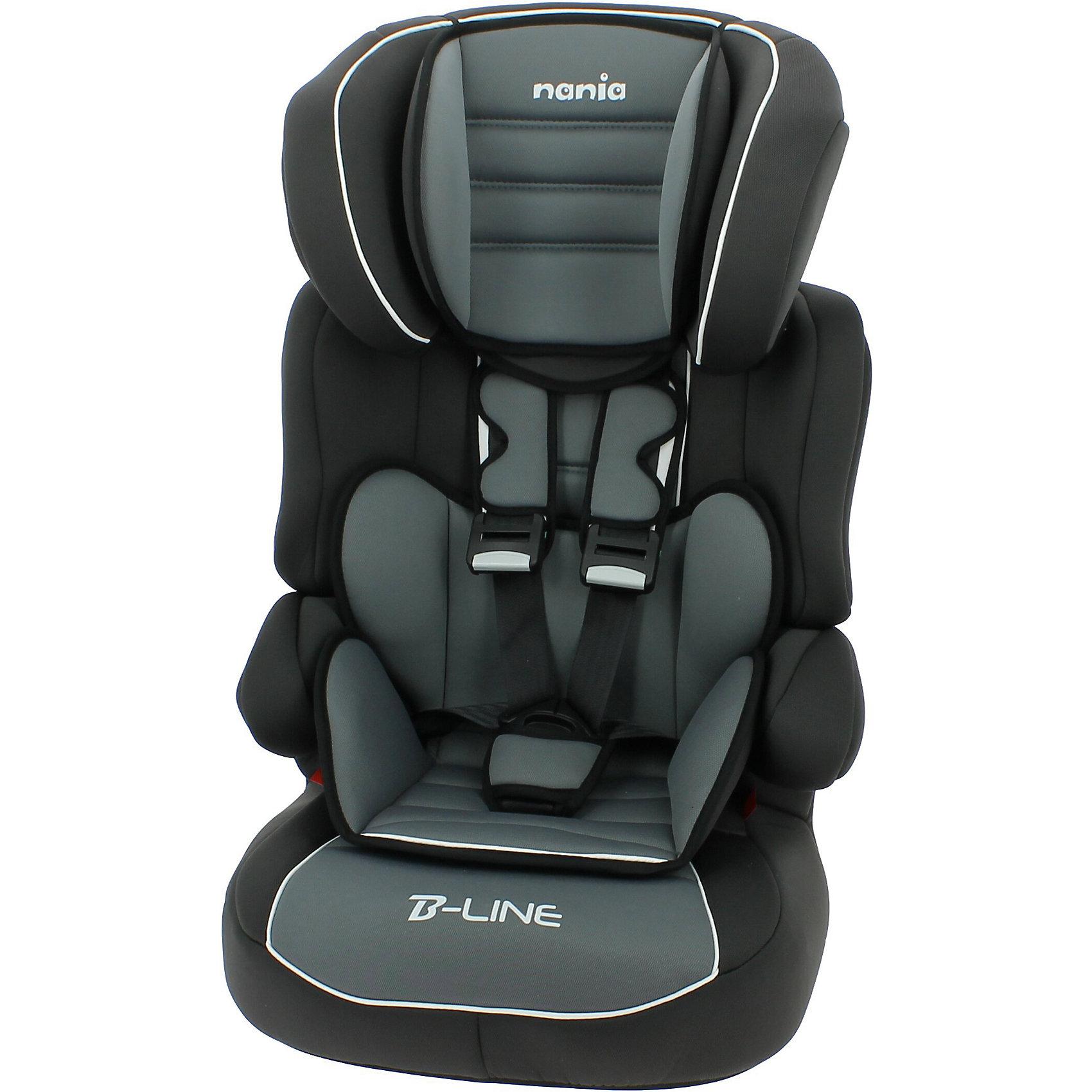 Автокресло Nania Beline SP LUX, 9-36 кг, agora stormГруппа 1-2-3 (От 9 до 36 кг)<br>Характеристики автокресла Nania Beline SP LUX:<br><br>• группа 1-2-3;<br>• вес ребенка: 9-36 кг;<br>• возраст ребенка: от 9 месяцев до 12 лет;<br>• способ установки: по ходу движения автомобиля;<br>• способ крепления: штатными ремнями безопасности автомобиля;<br>• регулируемая высота подголовника: 6 положений;<br>• встроенные 5-ти точечные ремни безопасности с мягкими накладками, подросшего ребенка можно пристегивать штатными ремнями безопасности;<br>• дополнительная защита от боковых ударов;<br>• подлокотники, широкие боковинки, анатомический вкладыш для маленького ребенка (до 3 лет), сетчатый карман для мелочей;<br>• возможность использовать автокресло как бустер – спинка снимается;<br>• съемные чехлы, стирка при температуре 30 градусов;<br>• материал: пластик, полиэстер;<br>• стандарт безопасности: ECE R44/04.<br><br>Размер автокресла: 44x45x72/85 см<br>Размер сиденья: 34х30 см<br>Вес автокресла: 4,7 кг<br><br>Путешествие с ребенком в автомобиле становится гораздо безопаснее с использованием автокресла Beline SP SP LUX, которое рассчитано для деток в возрасте до 12 лет, с учетом возрастных изменений на каждом этапе его роста. Автокресло устанавливается на заднем сиденье автомобиля или на переднем сиденье автомобиля с отключенной подушкой безопасности. Когда вес ребенка находится в пределах 22 кг, спинку автокресла можно снять, чтобы получить бустер и использовать его, пока вес ребенка будет варьироваться в пределах 22-36 кг.<br><br>Автокресло Beline SP LUX, 9-36 кг., Nania, rock grey можно купить в нашем интернет-магазине.<br><br>Ширина мм: 700<br>Глубина мм: 450<br>Высота мм: 500<br>Вес г: 4900<br>Возраст от месяцев: 9<br>Возраст до месяцев: 144<br>Пол: Унисекс<br>Возраст: Детский<br>SKU: 5287287