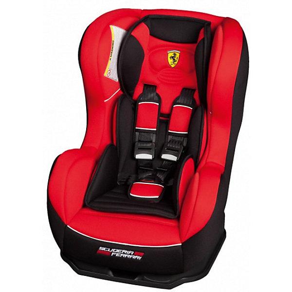 Автокресло Nania Cosmo SP LX 0-18 кг, corsa ferrariГруппа 0-1 (до 18 кг)<br>Характеристики Nania Cosmo SP LX:<br><br>• группа 0+/1;<br>• вес ребенка: до 18 кг;<br>• возраст ребенка: от рождения до 4-х лет;<br>• способ установки: против хода (до 9 кг) и по ходу движения автомобиля (9-18кг);<br>• способ крепления: штатными ремнями безопасности автомобиля;<br>• 5-ти точечные ремни безопасности с мягкими накладками;<br>• угол наклона спинки регулируется: 5 положений, положение для сна;<br>• анатомический вкладыш для новорожденного, подголовник;<br>• дополнительная защита от боковых ударов, система SP (side protection);<br>• съемные чехлы, стирка при температуре 30 градусов;<br>• материал: пластик, полиэстер;<br>• стандарт безопасности: ЕСЕ R44/03.<br><br>Размер автокресла: 50x45x60 см<br>Размер сиденья: 33х31 см<br>Высота спинки: 55 см<br>Вес автокресла: 5,7 кг<br><br>Автокресло Nania Cosmo SP LX устанавливается как по ходу движения, так и против хода движения автомобиля, как на заднем сиденье автомобиля, так и на переднем сиденье автомобиля (с условием отключения подушки безопасности). Регулируемая спинка дает возможность малышу занять удобное положение, как во время сна, так и во время бодрствования. Автокресло соответствует всем стандартам безопасности. <br><br>Автокресло Cosmo SP LX 0-18 кг., Nania, corsa ferrari можно купить в нашем интернет-магазине.<br>Ширина мм: 660; Глубина мм: 455; Высота мм: 805; Вес г: 14910; Возраст от месяцев: 0; Возраст до месяцев: 48; Пол: Мужской; Возраст: Детский; SKU: 5287295;