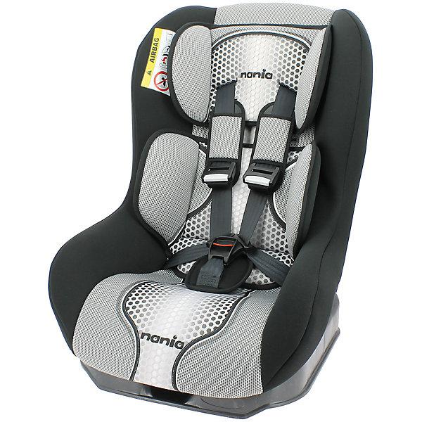 Автокресло Nania Driver FST 0-18 кг, pop blackГруппа 0-1 (до 18 кг)<br>Характеристики автокресла Nania Driver FST:<br><br>• группа 0-1;<br>• вес ребенка: до 18 кг;<br>• возраст ребенка: от рождения до 4-х лет;<br>• способ установки: по ходу движения автомобиля;<br>• способ крепления: штатными ремнями безопасности автомобиля;<br>• 5-ти точечные ремни безопасности с мягкими накладками;<br>• регулируемый наклон спинки;<br>• анатомический вкладыш для новорожденного, подголовник;<br>• дополнительная защита от боковых ударов, система SP (side protection);<br>• съемные чехлы, стирка при температуре 30 градусов;<br>• материал: пластик, полиэстер;<br>• стандарт безопасности: ЕСЕ R44/03.<br><br>Размер автокресла: 59х48х43 см<br>Размер упаковки: 45х50х60 см<br>Вес в упаковке: 4,44 кг<br><br>Обезопасить ребенка во время поездок на машине помогает детское автокресло. Группа автокресел 0/1 используется, пока вес ребенка находится в пределах 18 кг. Регулируемый наклон спинки позволяет малышу выбрать подходящее положение и для сна, и для игр. Малыша пристегивают встроенными ремнями безопасности, которые регулируются по длине. <br><br>Автокресло Driver FST, 0-18 кг., Nania, pop black можно купить в нашем интернет-магазине.<br>Ширина мм: 600; Глубина мм: 460; Высота мм: 520; Вес г: 12490; Возраст от месяцев: 0; Возраст до месяцев: 48; Пол: Унисекс; Возраст: Детский; SKU: 5287296;