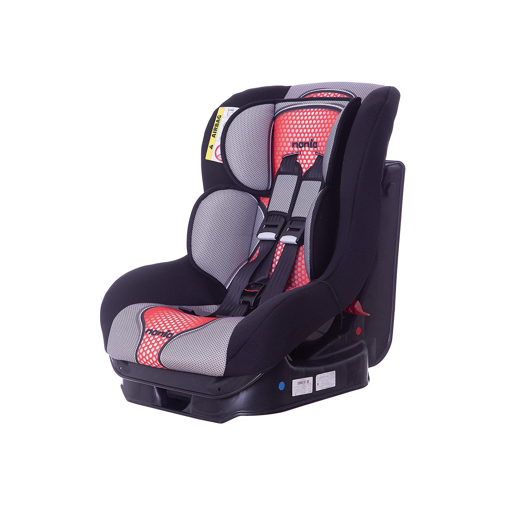 Автокресло Nania Driver FST, 0-18 кг, pop redГруппа 0+, 1 (До 18 кг)<br>Характеристики автокресла Nania Driver FST:<br><br>• группа 0-1;<br>• вес ребенка: до 18 кг;<br>• возраст ребенка: от рождения до 4-х лет;<br>• способ установки: по ходу движения автомобиля;<br>• способ крепления: штатными ремнями безопасности автомобиля;<br>• 5-ти точечные ремни безопасности с мягкими накладками;<br>• регулируемый наклон спинки;<br>• анатомический вкладыш для новорожденного, подголовник;<br>• дополнительная защита от боковых ударов;<br>• съемные чехлы, стирка при температуре 30 градусов;<br>• материал: пластик, полиэстер;<br>• стандарт безопасности: ЕСЕ R44/03.<br><br>Размер автокресла: 59х48х43 см<br>Размер упаковки: 45х50х60 см<br>Вес в упаковке: 4,44 кг<br><br>Обезопасить ребенка во время поездок на машине помогает детское автокресло. Группа автокресел 0/1 используется, пока вес ребенка находится в пределах 18 кг. Регулируемый наклон спинки позволяет малышу выбрать подходящее положение и для сна, и для игр. Малыша пристегивают встроенными ремнями безопасности, которые регулируются по длине. <br><br>Автокресло Driver FST, 0-18 кг., Nania, pop red можно купить в нашем интернет-магазине.<br><br>Ширина мм: 600<br>Глубина мм: 460<br>Высота мм: 520<br>Вес г: 12490<br>Возраст от месяцев: 0<br>Возраст до месяцев: 48<br>Пол: Унисекс<br>Возраст: Детский<br>SKU: 5287297