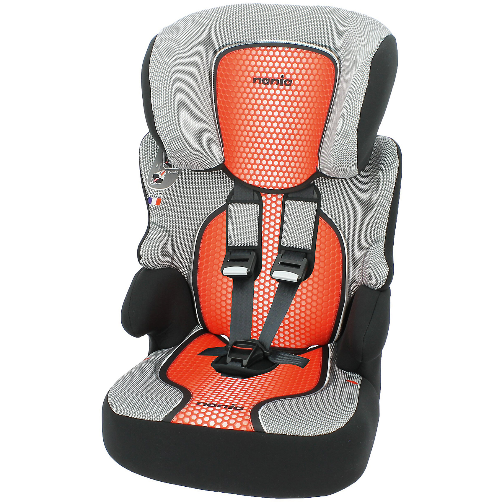 Автокресло Beline SP FST 9-36 кг., Nania, pop redХарактеристики автокресла Nania Beline SP FST:<br><br>• группа 1-2-3;<br>• вес ребенка: 9-36 кг;<br>• возраст ребенка: от 9 месяцев до 12 лет;<br>• способ установки: по ходу движения автомобиля;<br>• способ крепления: штатными ремнями безопасности автомобиля;<br>• 5-ти точечные ремни безопасности с мягкими накладками, регулируются по высоте (3 положения) и длине;<br>• имеются подлокотники;<br>• регулируемая высота подголовника: 6 положений;<br>• дополнительная защита от боковых ударов, система SP (side protection);<br>• функция бустера: спинка снимается, остается только креслице для ребенка, вес которого находится в пределах 22-36 кг;<br>• съемные чехлы, стирка при температуре 30 градусов;<br>• материал: пластик, полиэстер;<br>• стандарт безопасности: ЕСЕ R44/04.<br><br>Размер автокресла: 47x44x68/79 см<br>Размер сиденья: 34х27 см<br>Высота спинки: 61-72 см<br>Вес автокресла: 3,9 кг<br><br>Автокресло Beline SP FST 9-36 кг., Nania, pop red можно купить в нашем интернет-магазине.<br><br>Ширина мм: 710<br>Глубина мм: 500<br>Высота мм: 450<br>Вес г: 10520<br>Возраст от месяцев: 9<br>Возраст до месяцев: 144<br>Пол: Унисекс<br>Возраст: Детский<br>SKU: 5287301