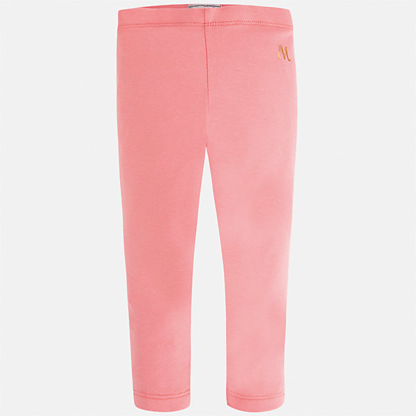 Леггинсы для девочки MayoralЛеггинсы<br>Характеристики товара:<br><br>• цвет: розовый<br>• состав: 85% хлопок, 10% вискоза, 5% эластан<br>• удобная посадка<br>• эластичный материал<br>• логотип<br>• страна бренда: Испания<br><br>Модные леггинсы для девочки смогут разнообразить гардероб ребенка и украсить наряд. Они отлично сочетаются с майками, футболками, блузками. Красивый оттенок позволяет подобрать к вещи верх разных расцветок. Леггинсы отлично сидят и не стесняют движения.<br><br>Одежда, обувь и аксессуары от испанского бренда Mayoral полюбились детям и взрослым по всему миру. Модели этой марки - стильные и удобные. Для их производства используются только безопасные, качественные материалы и фурнитура. Порадуйте ребенка модными и красивыми вещами от Mayoral! <br><br>Леггинсы для девочки от испанского бренда Mayoral (Майорал) можно купить в нашем интернет-магазине.<br><br>Ширина мм: 123<br>Глубина мм: 10<br>Высота мм: 149<br>Вес г: 209<br>Цвет: розовый<br>Возраст от месяцев: 84<br>Возраст до месяцев: 96<br>Пол: Женский<br>Возраст: Детский<br>Размер: 128,134,92,98,104,110,116,122<br>SKU: 5288677