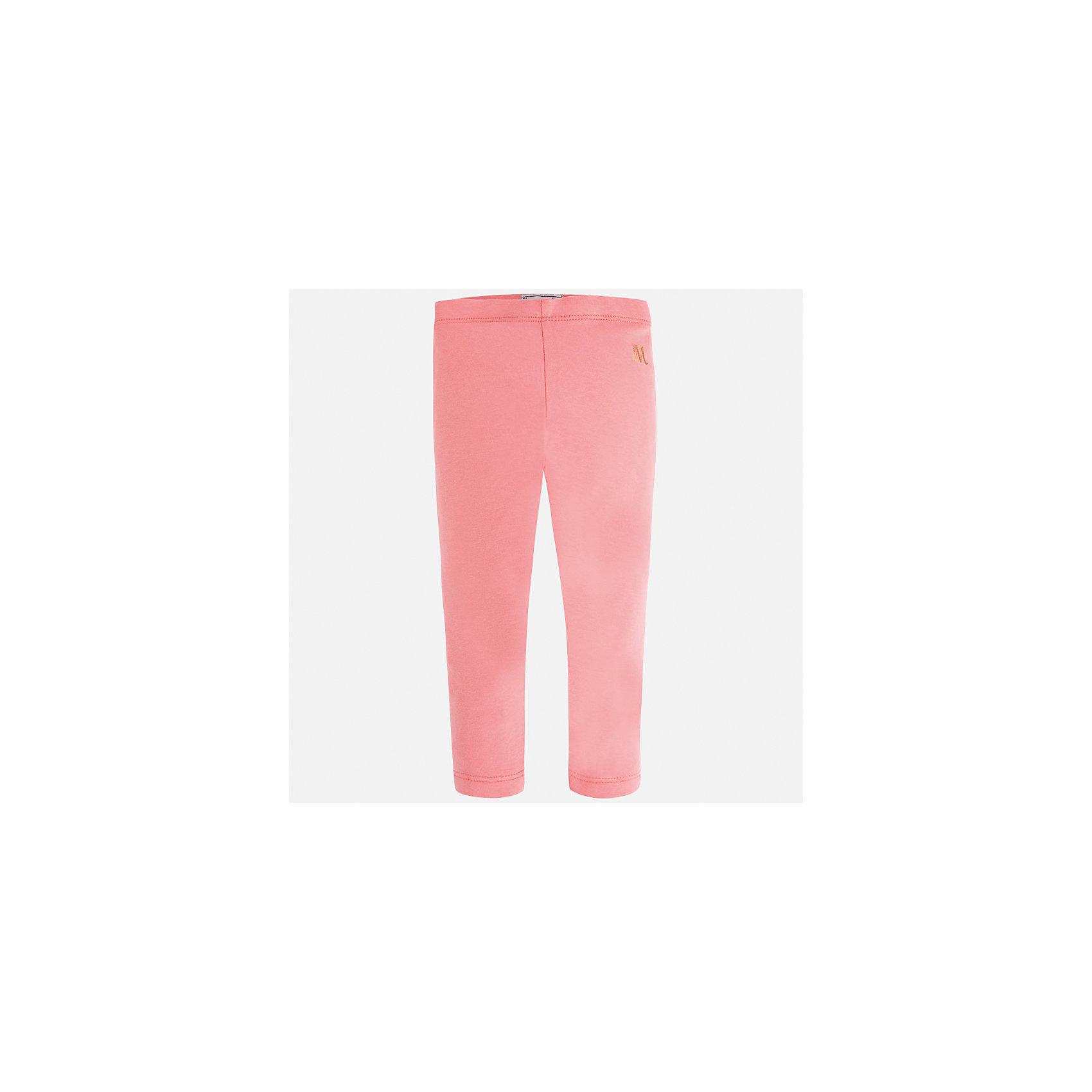 Леггинсы для девочки MayoralХарактеристики товара:<br><br>• цвет: розовый<br>• состав: 85% хлопок, 10% вискоза, 5% эластан<br>• удобная посадка<br>• эластичный материал<br>• логотип<br>• страна бренда: Испания<br><br>Модные леггинсы для девочки смогут разнообразить гардероб ребенка и украсить наряд. Они отлично сочетаются с майками, футболками, блузками. Красивый оттенок позволяет подобрать к вещи верх разных расцветок. Леггинсы отлично сидят и не стесняют движения.<br><br>Одежда, обувь и аксессуары от испанского бренда Mayoral полюбились детям и взрослым по всему миру. Модели этой марки - стильные и удобные. Для их производства используются только безопасные, качественные материалы и фурнитура. Порадуйте ребенка модными и красивыми вещами от Mayoral! <br><br>Леггинсы для девочки от испанского бренда Mayoral (Майорал) можно купить в нашем интернет-магазине.<br><br>Ширина мм: 123<br>Глубина мм: 10<br>Высота мм: 149<br>Вес г: 209<br>Цвет: розовый<br>Возраст от месяцев: 96<br>Возраст до месяцев: 108<br>Пол: Женский<br>Возраст: Детский<br>Размер: 134,92,98,104,110,116,122,128<br>SKU: 5288677