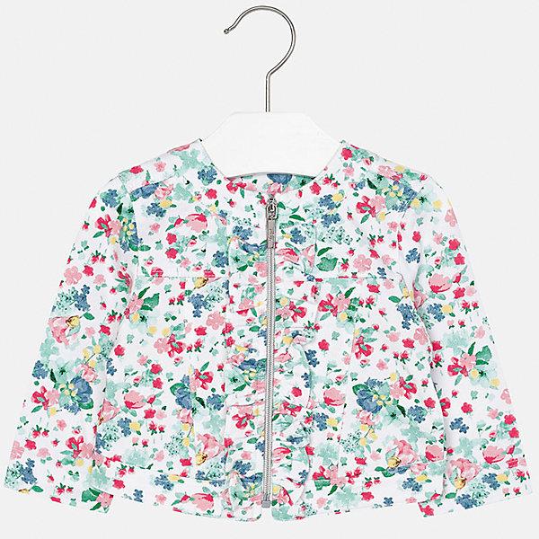 Куртка для девочки MayoralВерхняя одежда<br>Куртка для девочки от известной испанской марки Mayoral.<br>Ширина мм: 356; Глубина мм: 10; Высота мм: 245; Вес г: 519; Цвет: зеленый; Возраст от месяцев: 6; Возраст до месяцев: 9; Пол: Женский; Возраст: Детский; Размер: 74,92,86,80; SKU: 5288921;