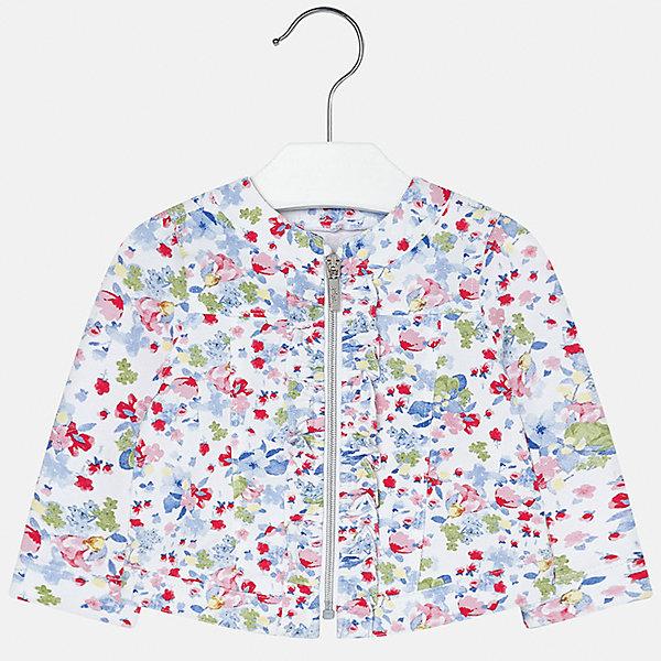 Куртка для девочки MayoralВерхняя одежда<br>Куртка для девочки от известной испанской марки Mayoral.<br>Ширина мм: 356; Глубина мм: 10; Высота мм: 245; Вес г: 519; Цвет: синий; Возраст от месяцев: 6; Возраст до месяцев: 9; Пол: Женский; Возраст: Детский; Размер: 92,86,80,74; SKU: 5288926;