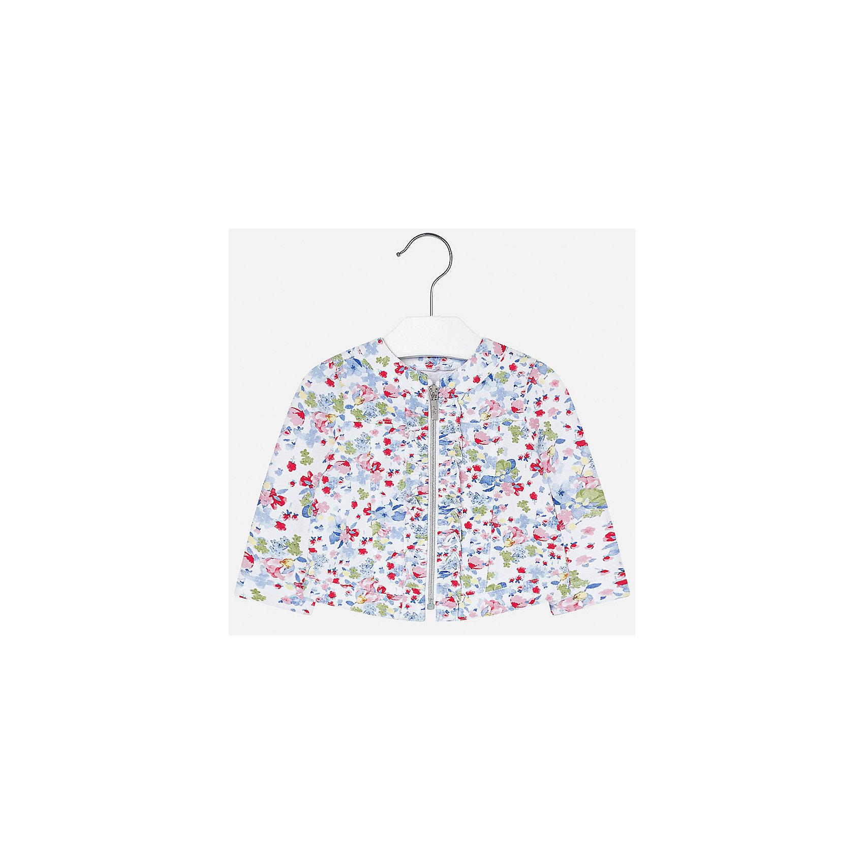 Куртка для девочки MayoralВерхняя одежда<br>Куртка для девочки от известной испанской марки Mayoral.<br><br>Ширина мм: 356<br>Глубина мм: 10<br>Высота мм: 245<br>Вес г: 519<br>Цвет: синий<br>Возраст от месяцев: 18<br>Возраст до месяцев: 24<br>Пол: Женский<br>Возраст: Детский<br>Размер: 92,74,80,86<br>SKU: 5288926