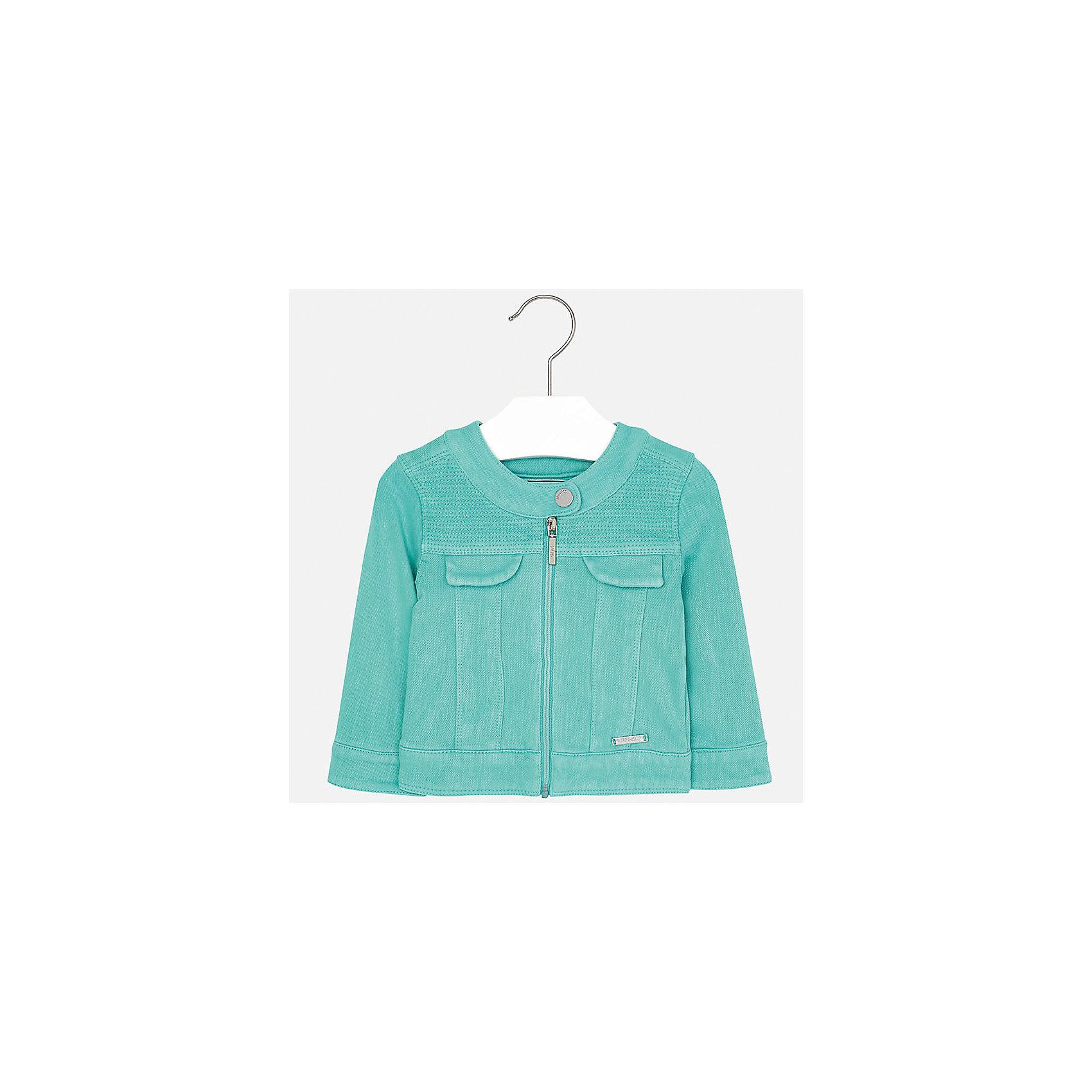 Куртка для девочки MayoralВерхняя одежда<br>Куртка для девочки от известной испанской марки Mayoral.<br><br>Ширина мм: 356<br>Глубина мм: 10<br>Высота мм: 245<br>Вес г: 519<br>Цвет: зеленый<br>Возраст от месяцев: 18<br>Возраст до месяцев: 24<br>Пол: Женский<br>Возраст: Детский<br>Размер: 92,74,80,86<br>SKU: 5288931