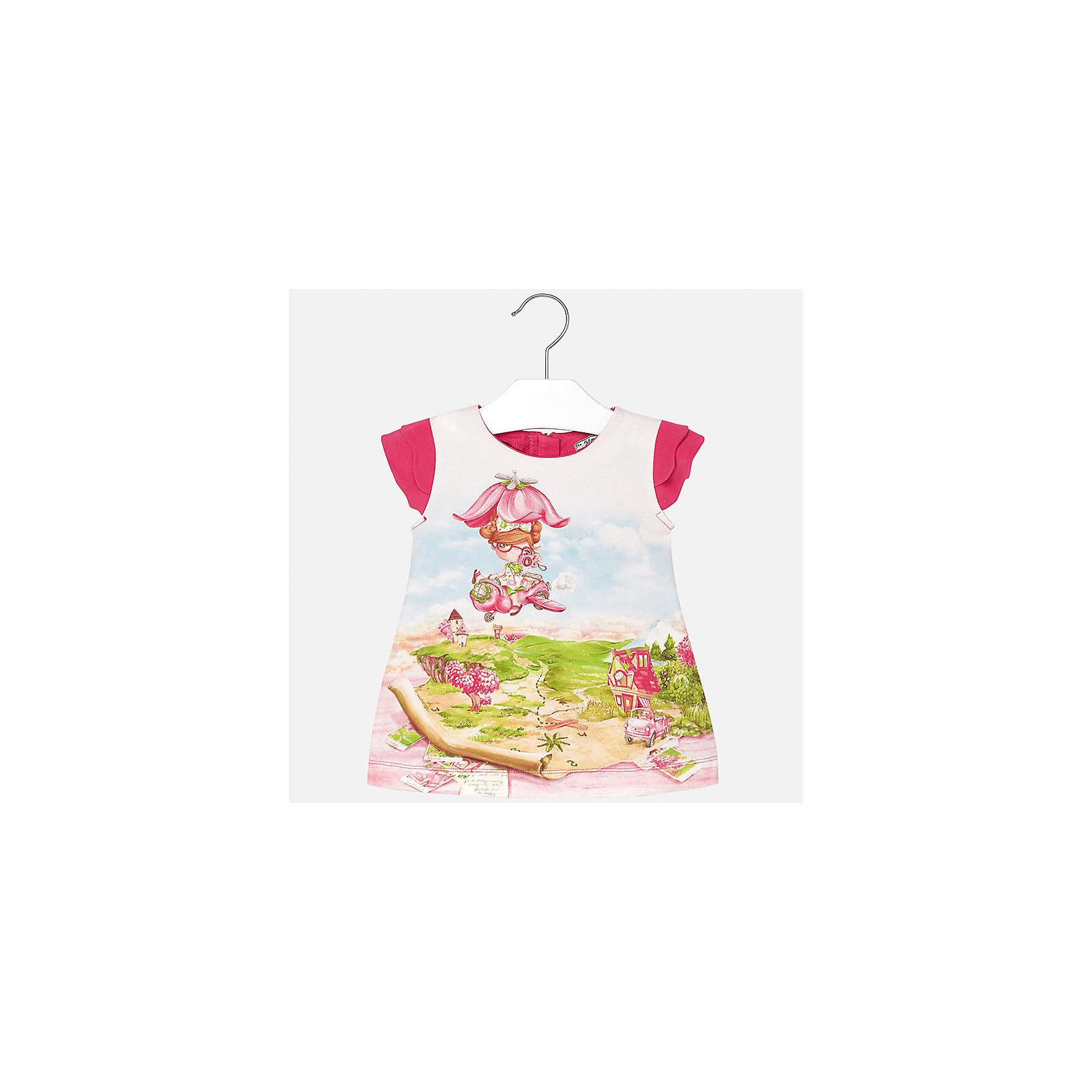 Платье для девочки MayoralПлатья<br>Платье для девочки от известной испанской марки Mayoral.<br><br>Ширина мм: 236<br>Глубина мм: 16<br>Высота мм: 184<br>Вес г: 177<br>Цвет: лиловый<br>Возраст от месяцев: 6<br>Возраст до месяцев: 9<br>Пол: Женский<br>Возраст: Детский<br>Размер: 74,92,80,86<br>SKU: 5289203