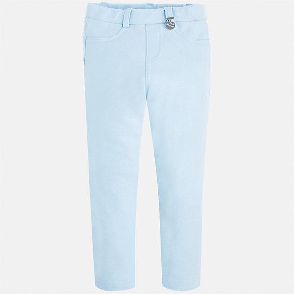 Леггинсы для девочки MayoralЛеггинсы<br>Характеристики товара:<br><br>• цвет: голубой<br>• состав: 95% хлопок, 5% эластан<br>• шлевки<br>• эластичный материал<br>• карманы<br>• пастельный оттенок<br>• страна бренда: Испания<br><br>Модные леггинсы для девочки смогут разнообразить гардероб ребенка и украсить наряд. Они отлично сочетаются с майками, футболками, блузками. Красивый оттенок позволяет подобрать к вещи верх разных расцветок. В составе материала - натуральный хлопок, гипоаллергенный, приятный на ощупь, дышащий. Леггинсы отлично сидят и не стесняют движения.<br><br>Одежда, обувь и аксессуары от испанского бренда Mayoral полюбились детям и взрослым по всему миру. Модели этой марки - стильные и удобные. Для их производства используются только безопасные, качественные материалы и фурнитура. Порадуйте ребенка модными и красивыми вещами от Mayoral! <br><br>Леггинсы для девочки от испанского бренда Mayoral (Майорал) можно купить в нашем интернет-магазине.<br><br>Ширина мм: 123<br>Глубина мм: 10<br>Высота мм: 149<br>Вес г: 209<br>Цвет: зеленый<br>Возраст от месяцев: 84<br>Возраст до месяцев: 96<br>Пол: Женский<br>Возраст: Детский<br>Размер: 128,122,110,104,98,92,116,134<br>SKU: 5290460