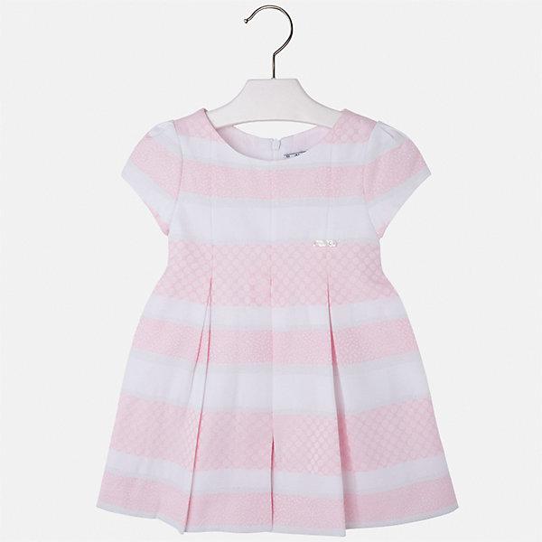 Платье для девочки Mayoral, Китай, розовый, 92, 134, 128, 122, 116, 110, 104, 98, Женский  - купить со скидкой
