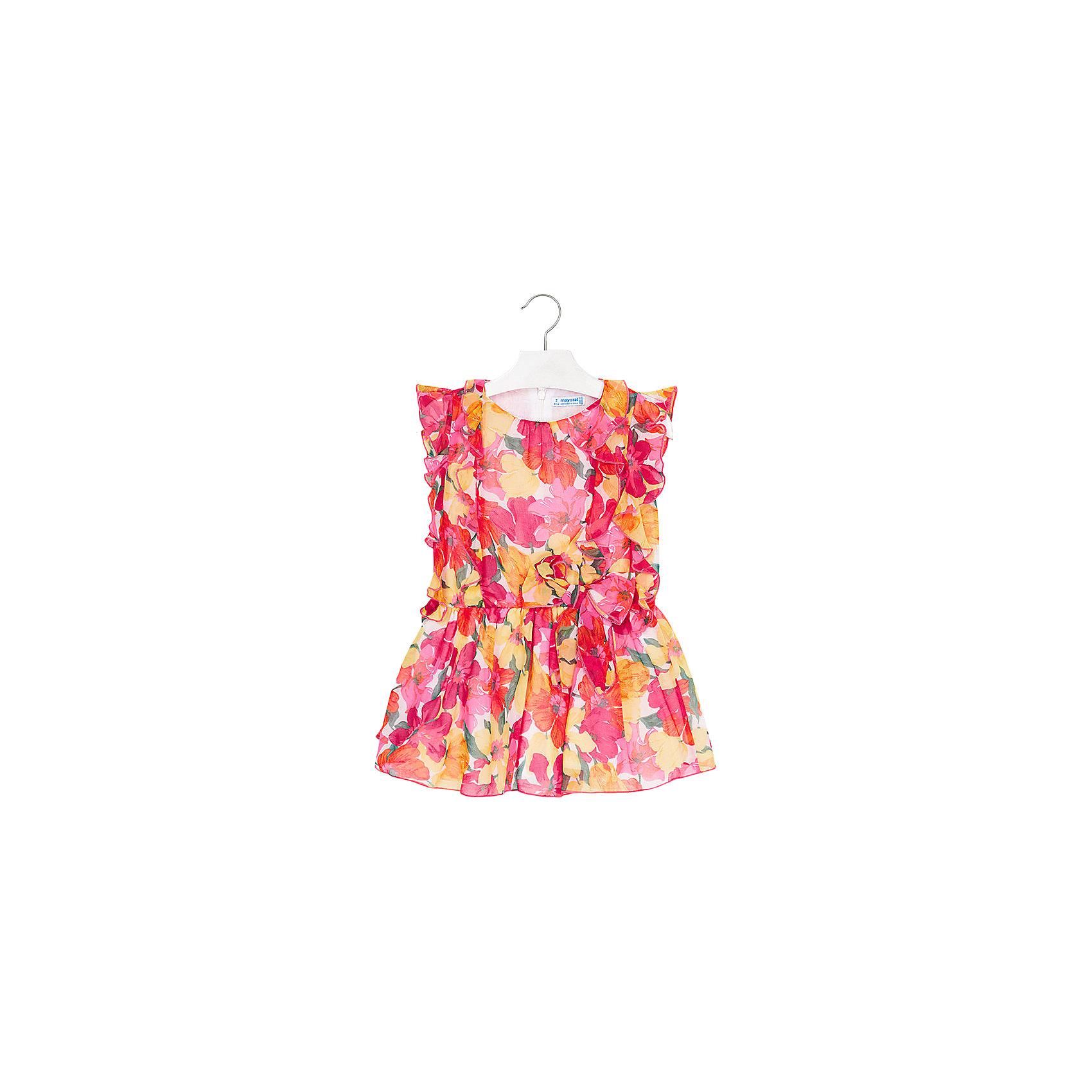 Платье для девочки MayoralХарактеристики товара:<br><br>• цвет: розовый<br>• состав: 70% лён, 30% хлопок, подкладка - 50% полиэстер, 50% хлопок<br>• застежка: молния<br>• складки<br>• украшено ажурным рисунком на подоле<br>• без рукавов<br>• с подкладкой<br>• страна бренда: Испания<br><br>Красивое легкое платье для девочки поможет разнообразить гардероб ребенка и создать эффектный наряд. Оно подойдет и для торжественных случаев, может быть и как ежедневный наряд. Красивый оттенок позволяет подобрать к вещи обувь разных расцветок. В составе материала - натуральный хлопок, гипоаллергенный, приятный на ощупь, дышащий. Платье хорошо сидит по фигуре.<br><br>Одежда, обувь и аксессуары от испанского бренда Mayoral полюбились детям и взрослым по всему миру. Модели этой марки - стильные и удобные. Для их производства используются только безопасные, качественные материалы и фурнитура. Порадуйте ребенка модными и красивыми вещами от Mayoral! <br><br>Платье для девочки от испанского бренда Mayoral (Майорал) можно купить в нашем интернет-магазине.<br><br>Ширина мм: 236<br>Глубина мм: 16<br>Высота мм: 184<br>Вес г: 177<br>Цвет: разноцветный<br>Возраст от месяцев: 60<br>Возраст до месяцев: 72<br>Пол: Женский<br>Возраст: Детский<br>Размер: 116,122,128,134,92,98,104,110<br>SKU: 5291024