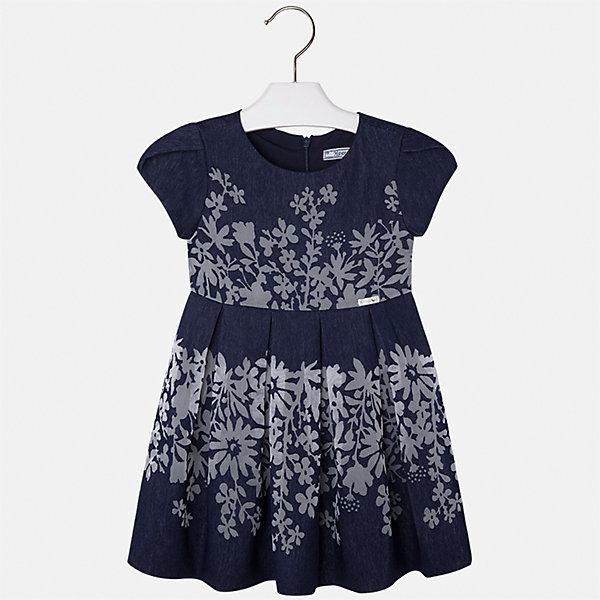 Платье для девочки MayoralОдежда<br>Характеристики товара:<br><br>• цвет: синий<br>• состав: 80% вискоза, 20% полиэстер, подкладка - 65% полиэстер, 35% хлопок<br>• застежка: молния<br>• легкий материал<br>• цветочный рисунок<br>• без рукавов<br>• с подкладкой<br>• страна бренда: Испания<br><br>Красивое легкое платье для девочки поможет разнообразить гардероб ребенка и создать эффектный наряд. Оно подойдет и для торжественных случаев, может быть и как ежедневный наряд. Красивый оттенок позволяет подобрать к вещи обувь разных расцветок. В составе материала подкладки - натуральный хлопок, гипоаллергенный, приятный на ощупь, дышащий. Платье хорошо сидит по фигуре.<br><br>Одежда, обувь и аксессуары от испанского бренда Mayoral полюбились детям и взрослым по всему миру. Модели этой марки - стильные и удобные. Для их производства используются только безопасные, качественные материалы и фурнитура. Порадуйте ребенка модными и красивыми вещами от Mayoral! <br><br>Платье для девочки от испанского бренда Mayoral (Майорал) можно купить в нашем интернет-магазине.<br>Ширина мм: 236; Глубина мм: 16; Высота мм: 184; Вес г: 177; Цвет: синий; Возраст от месяцев: 24; Возраст до месяцев: 36; Пол: Женский; Возраст: Детский; Размер: 98,134,128,122,116,110,104; SKU: 5291100;