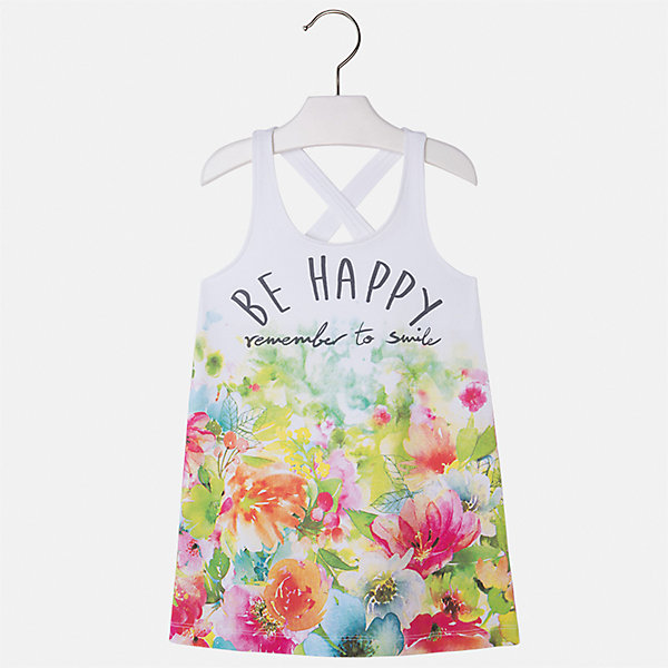 Платье для девочки MayoralПлатья и сарафаны<br>Характеристики товара:<br><br>• цвет: мультиколор<br>• состав: 92% хлопок, 8% эластан<br>• без застежки<br>• принт<br>• без рукавов<br>• без подкладки<br>• страна бренда: Испания<br><br>Модное красивое платье для девочки поможет разнообразить гардероб ребенка и создать эффектный наряд. Оно отлично подойдет для различных случаев. Красивый оттенок позволяет подобрать к вещи обувь разных расцветок. Платье хорошо сидит по фигуре. . В составе материала - натуральный хлопок, гипоаллергенный, приятный на ощупь, дышащий.<br><br>Одежда, обувь и аксессуары от испанского бренда Mayoral полюбились детям и взрослым по всему миру. Модели этой марки - стильные и удобные. Для их производства используются только безопасные, качественные материалы и фурнитура. Порадуйте ребенка модными и красивыми вещами от Mayoral! <br><br>Платье для девочки от испанского бренда Mayoral (Майорал) можно купить в нашем интернет-магазине.<br><br>Ширина мм: 236<br>Глубина мм: 16<br>Высота мм: 184<br>Вес г: 177<br>Цвет: зеленый<br>Возраст от месяцев: 18<br>Возраст до месяцев: 24<br>Пол: Женский<br>Возраст: Детский<br>Размер: 134,98,104,110,116,122,128,92<br>SKU: 5292434
