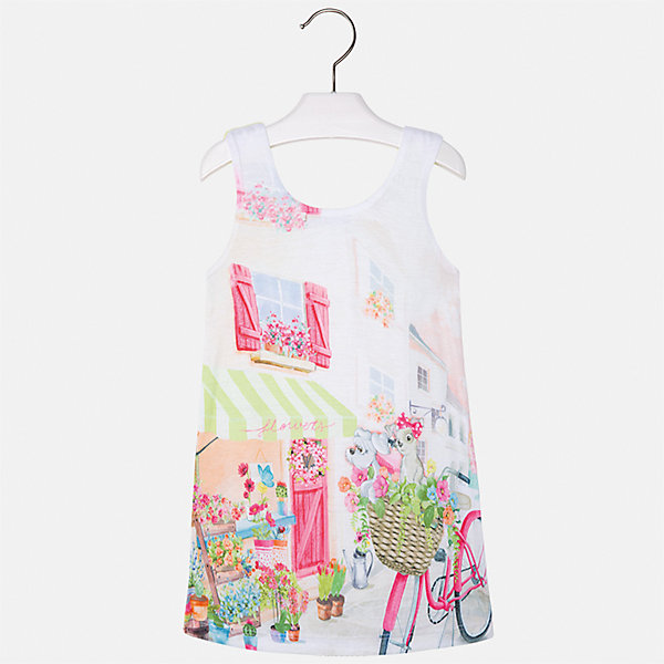 Платье для девочки MayoralПлатья и сарафаны<br>Характеристики товара:<br><br>• цвет: белый/жёлтый<br>• состав: 92% хлопок, 8% эластан, подкладка - 100% полиэстер<br>• без застежки<br>• принт<br>• без рукавов<br>• с подкладкой<br>• страна бренда: Испания<br><br>Модное красивое платье для девочки поможет разнообразить гардероб ребенка и создать эффектный наряд. Оно отлично подойдет для различных случаев. Платье хорошо сидит по фигуре. . В составе материала - натуральный хлопок, гипоаллергенный, приятный на ощупь, дышащий.<br><br>Платье для девочки от испанского бренда Mayoral (Майорал) можно купить в нашем интернет-магазине.<br><br>Ширина мм: 236<br>Глубина мм: 16<br>Высота мм: 184<br>Вес г: 177<br>Цвет: желтый<br>Возраст от месяцев: 24<br>Возраст до месяцев: 36<br>Пол: Женский<br>Возраст: Детский<br>Размер: 98,122,116,110,104<br>SKU: 5292452