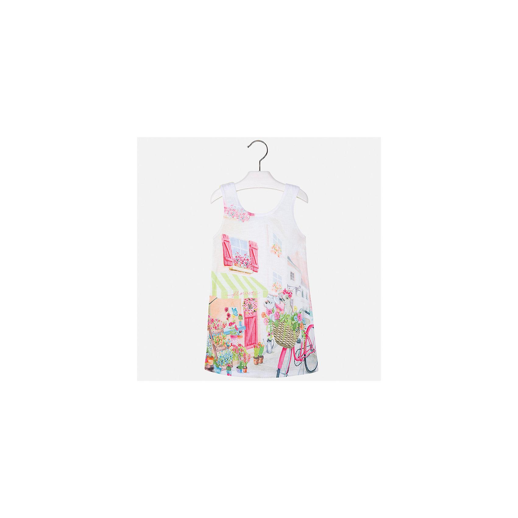 Платье для девочки MayoralПлатья и сарафаны<br>Характеристики товара:<br><br>• цвет: белый/жёлтый<br>• состав: 92% хлопок, 8% эластан, подкладка - 100% полиэстер<br>• без застежки<br>• принт<br>• без рукавов<br>• с подкладкой<br>• страна бренда: Испания<br><br>Модное красивое платье для девочки поможет разнообразить гардероб ребенка и создать эффектный наряд. Оно отлично подойдет для различных случаев. Платье хорошо сидит по фигуре. . В составе материала - натуральный хлопок, гипоаллергенный, приятный на ощупь, дышащий.<br><br>Платье для девочки от испанского бренда Mayoral (Майорал) можно купить в нашем интернет-магазине.<br><br>Ширина мм: 236<br>Глубина мм: 16<br>Высота мм: 184<br>Вес г: 177<br>Цвет: желтый<br>Возраст от месяцев: 72<br>Возраст до месяцев: 84<br>Пол: Женский<br>Возраст: Детский<br>Размер: 122,98,104,110,116<br>SKU: 5292452